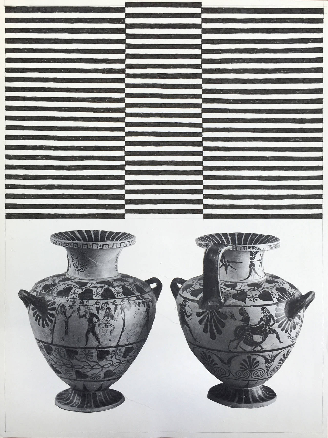 two pots, 2015
