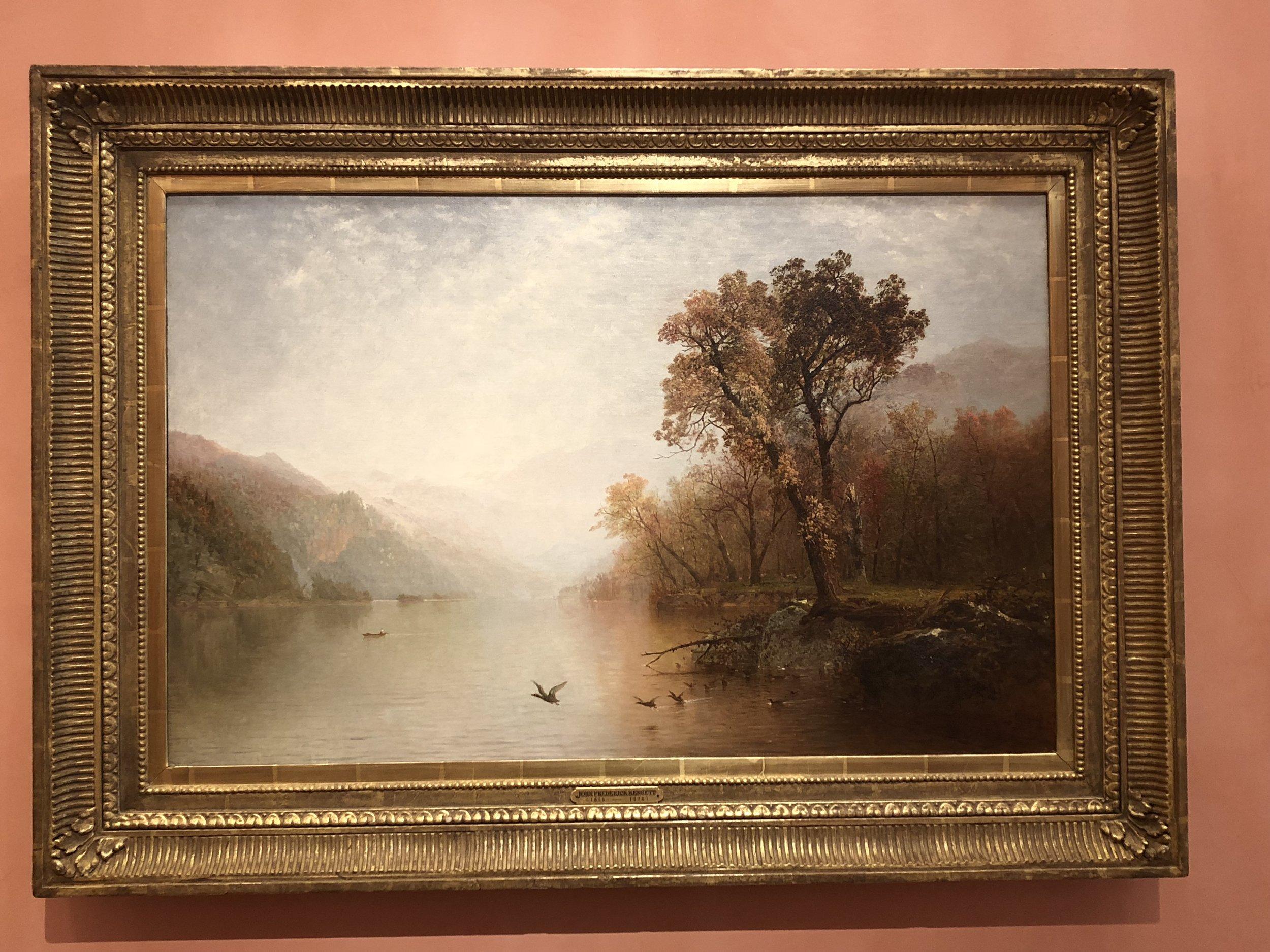 John Frederick Kensett  Lake George, 1860