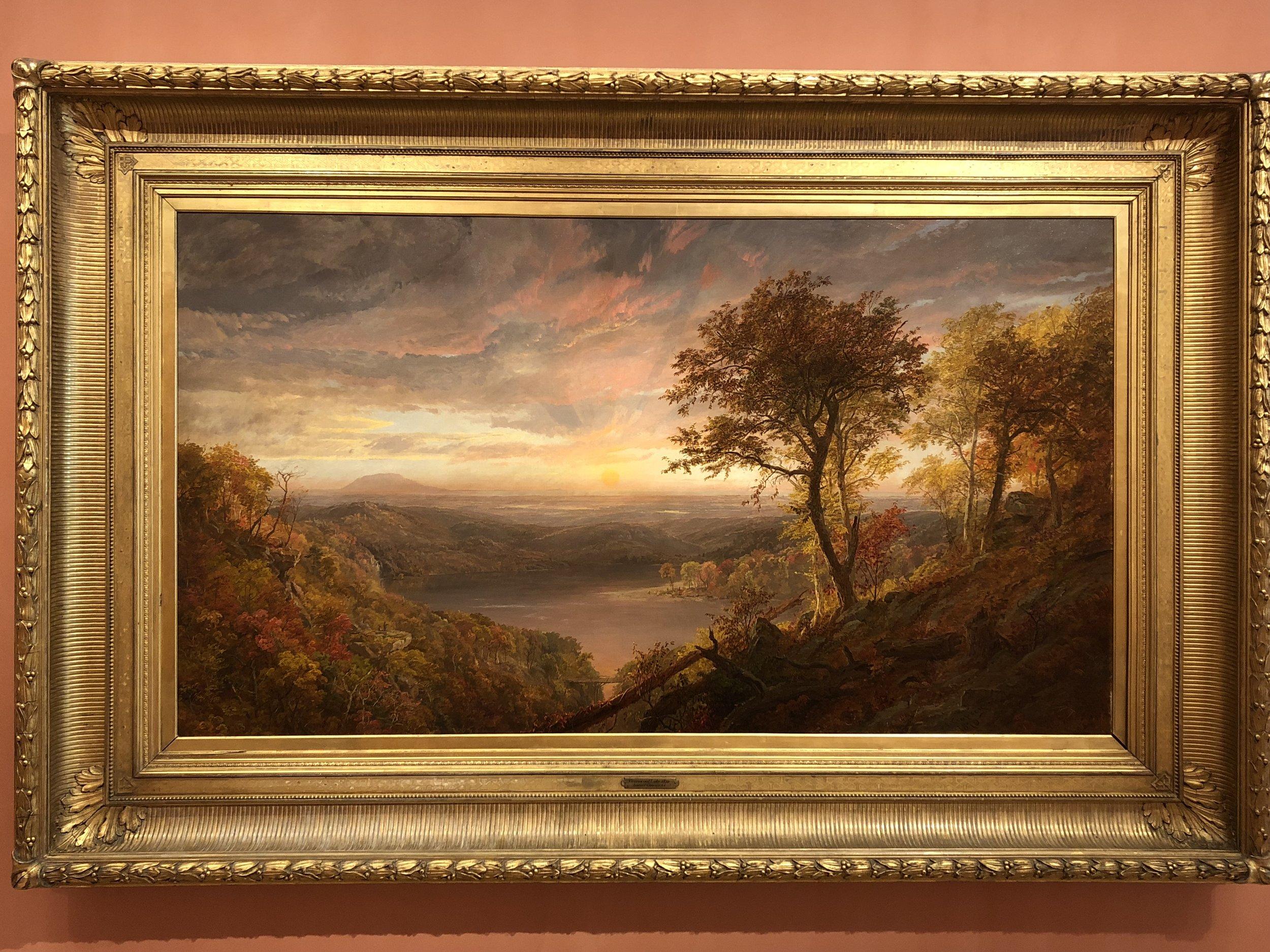 Jasper Francis Cropsey  Greenwood Lake, 1870