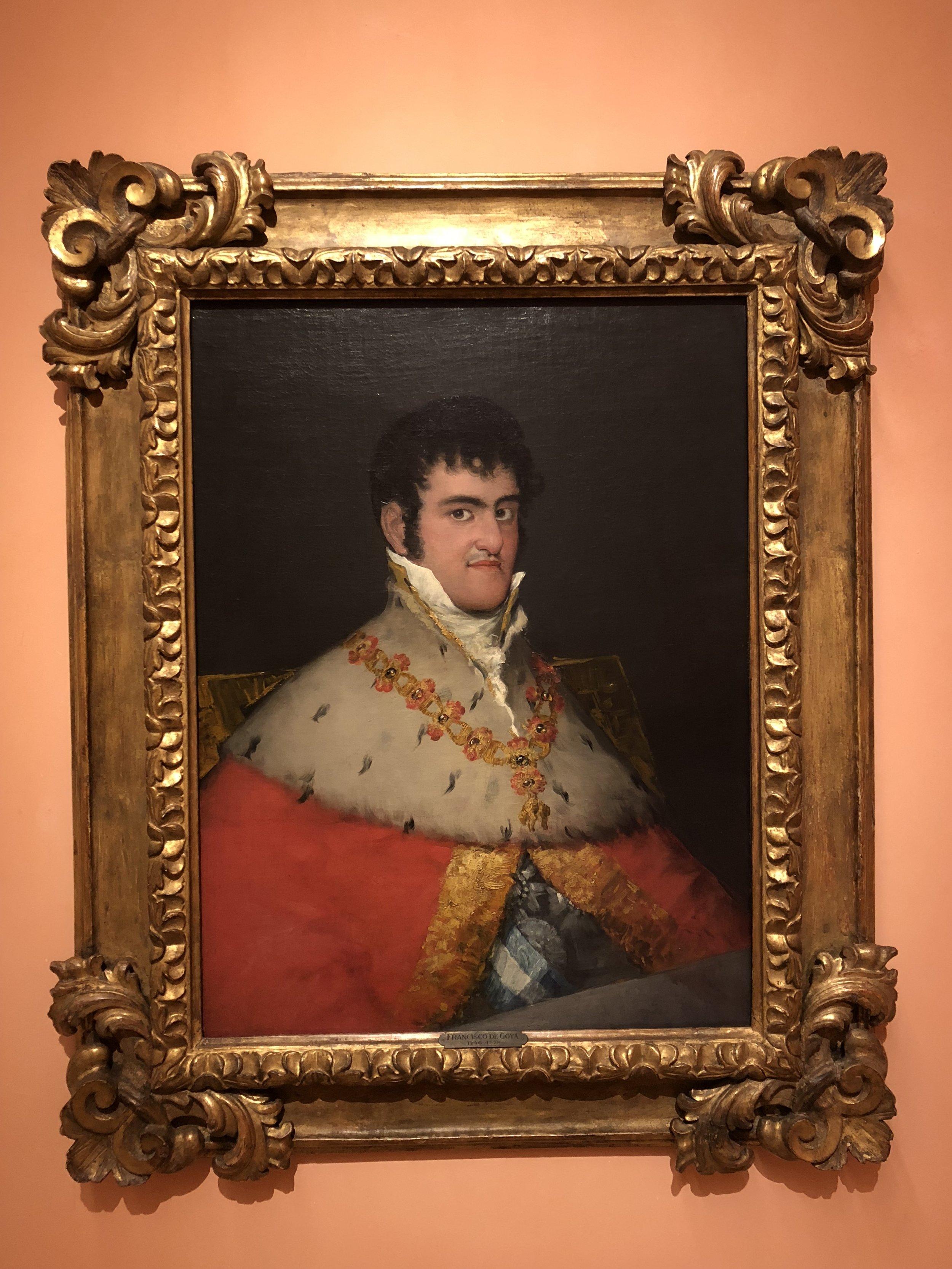 Francisco Goya  Portrait of Ferdinand VII, 1814-1815