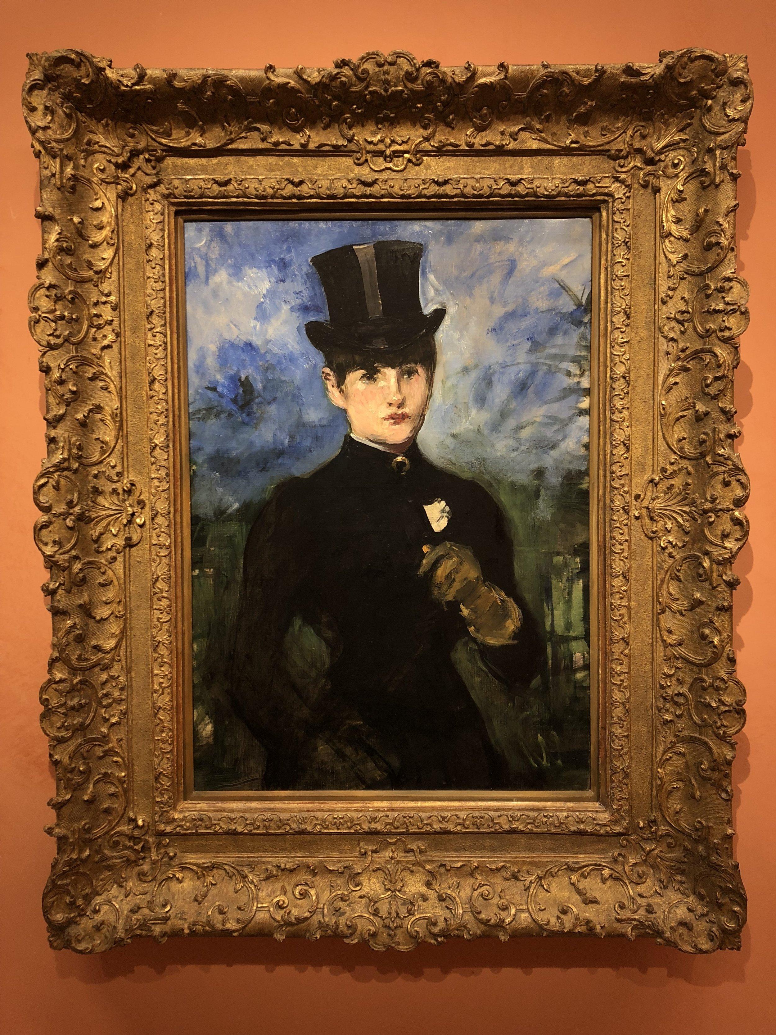 Edouard Manet  Horsewoman, Full Face, 1882