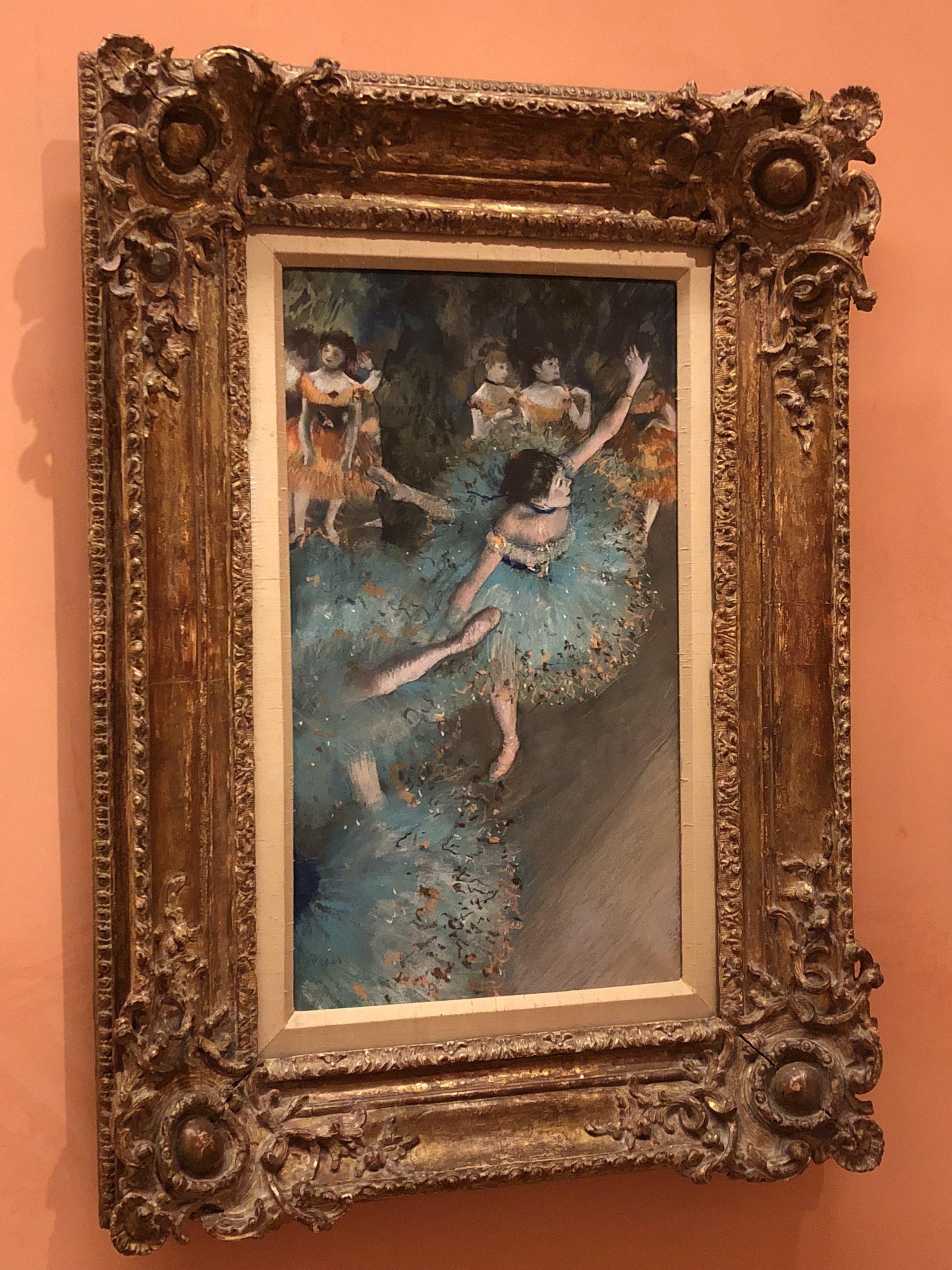 Edgar Degas  Swaying Dancer (Dancer in Green), 1877-1879