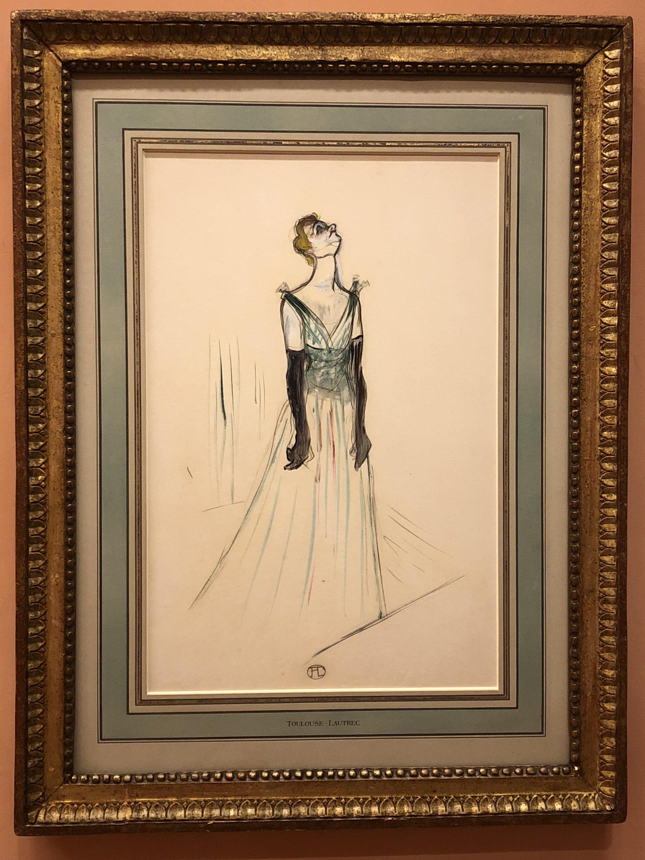 Henri de Toulouse-Lautrec  Yvette Guilbert, 1893