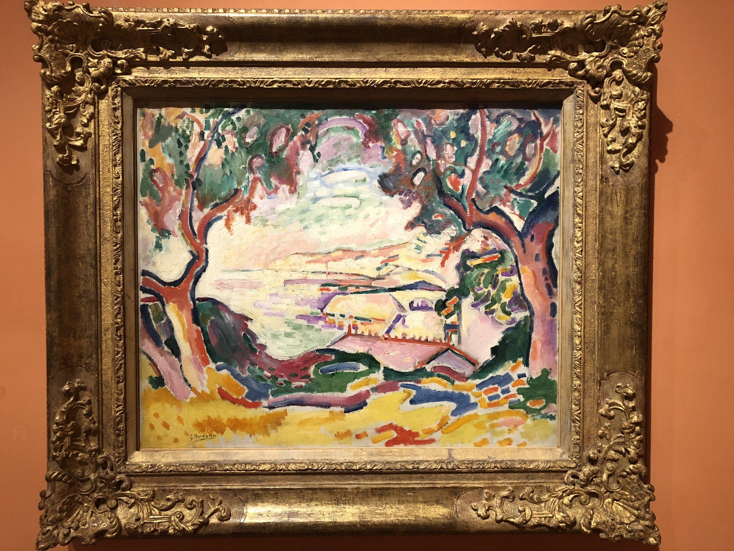 Georges Braque  Seascape, L'Estaque, 1906