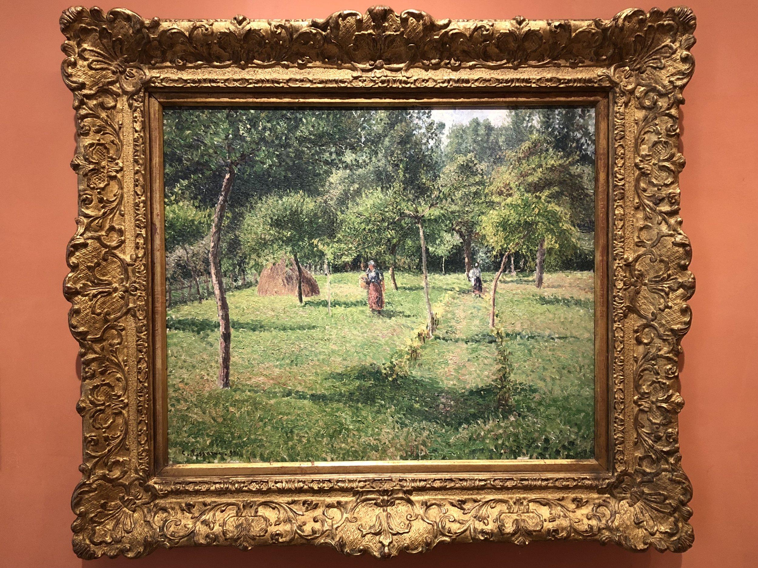 Camille Pissarro  The Orchard at Eragny, 1896
