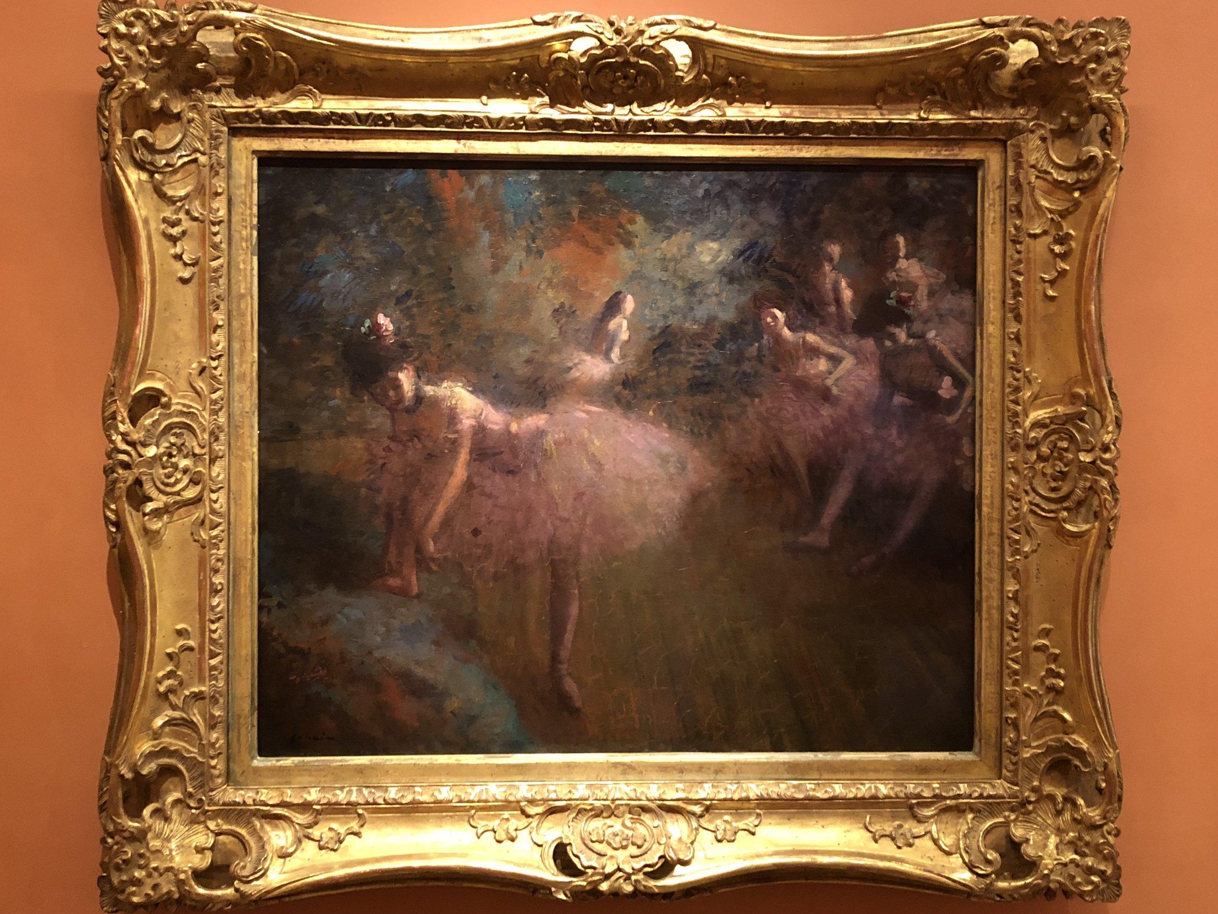 Jean Louis Forain  Dancers in Pink, 1905