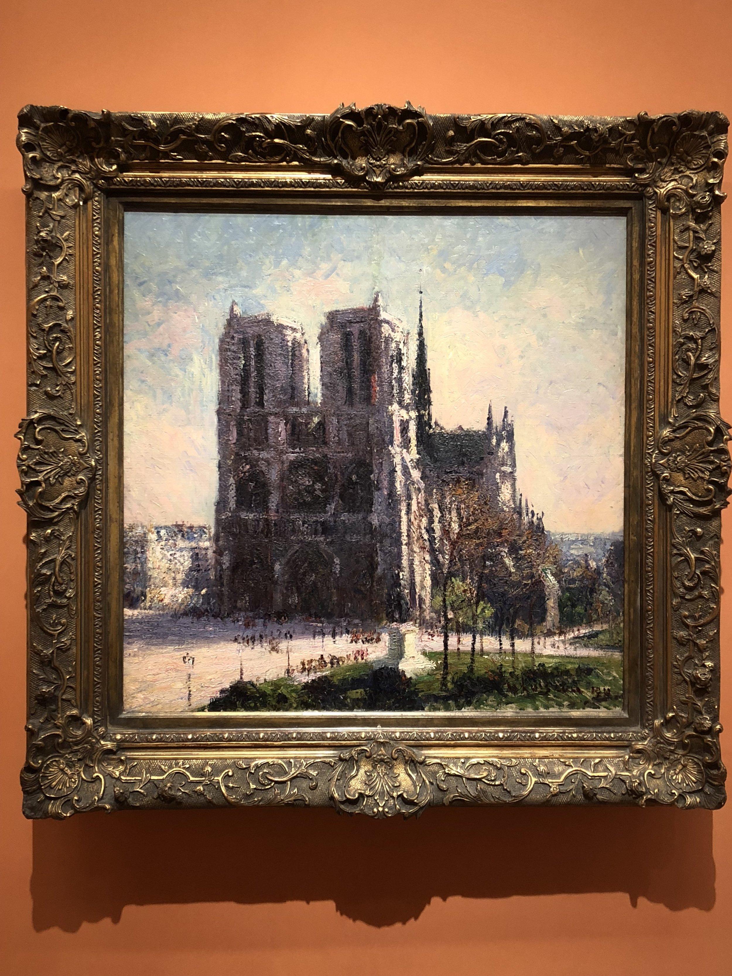 Gustave Loisseau  View of Notre-Dame, Paris, 1911