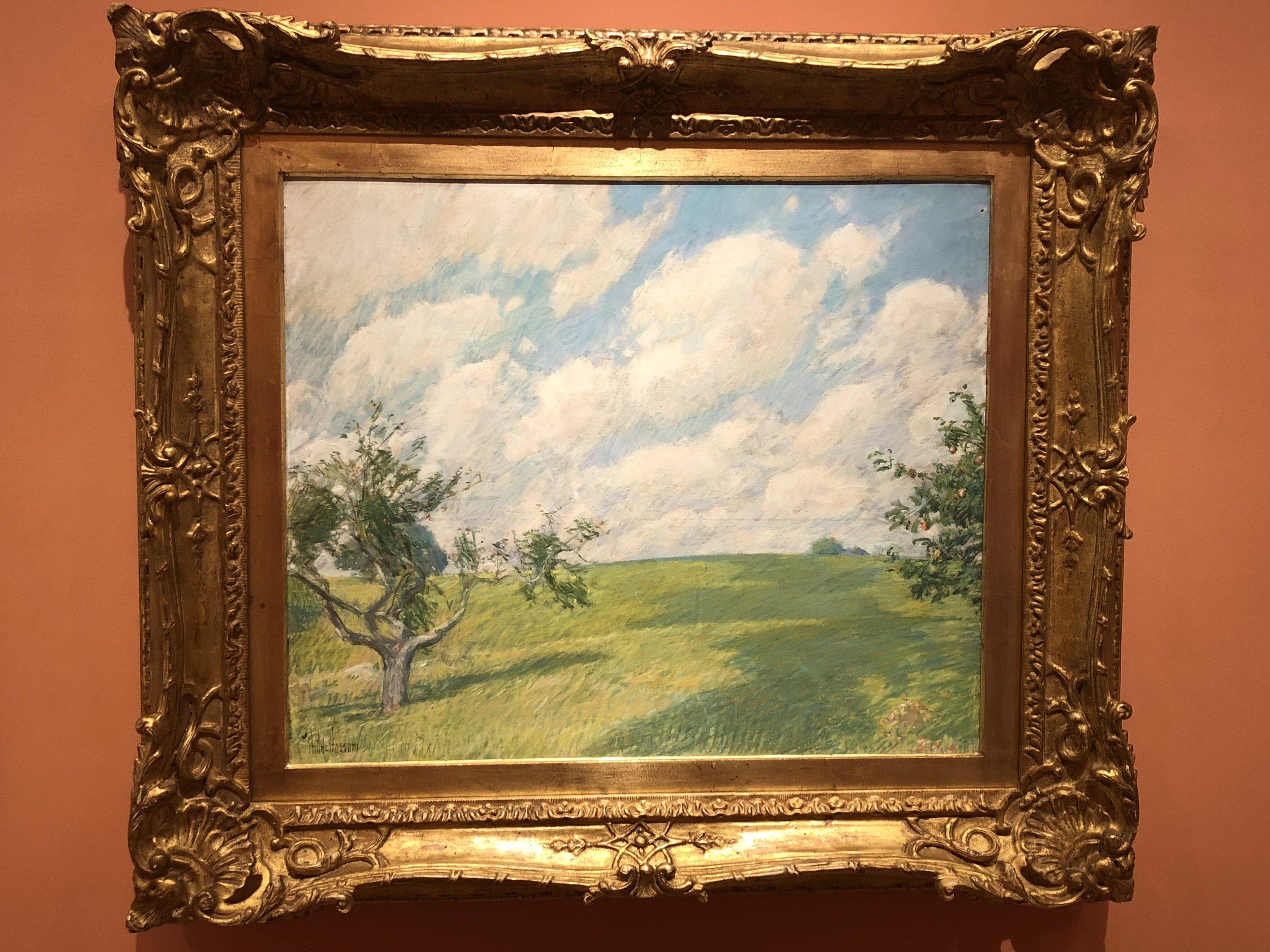 Childe Hassam  September Clouds, 1891