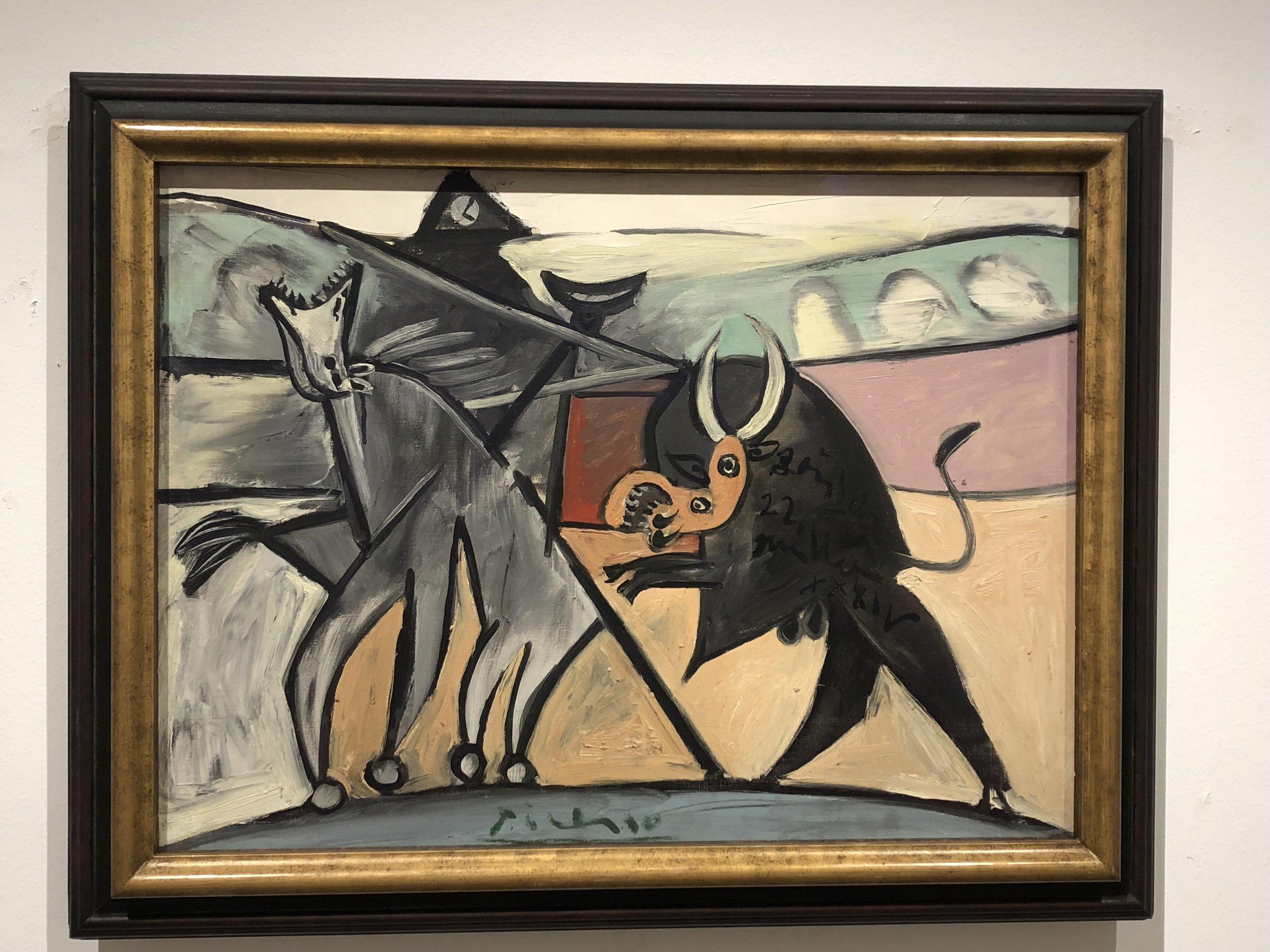 Pablo Picasso  Bullfight, 1934