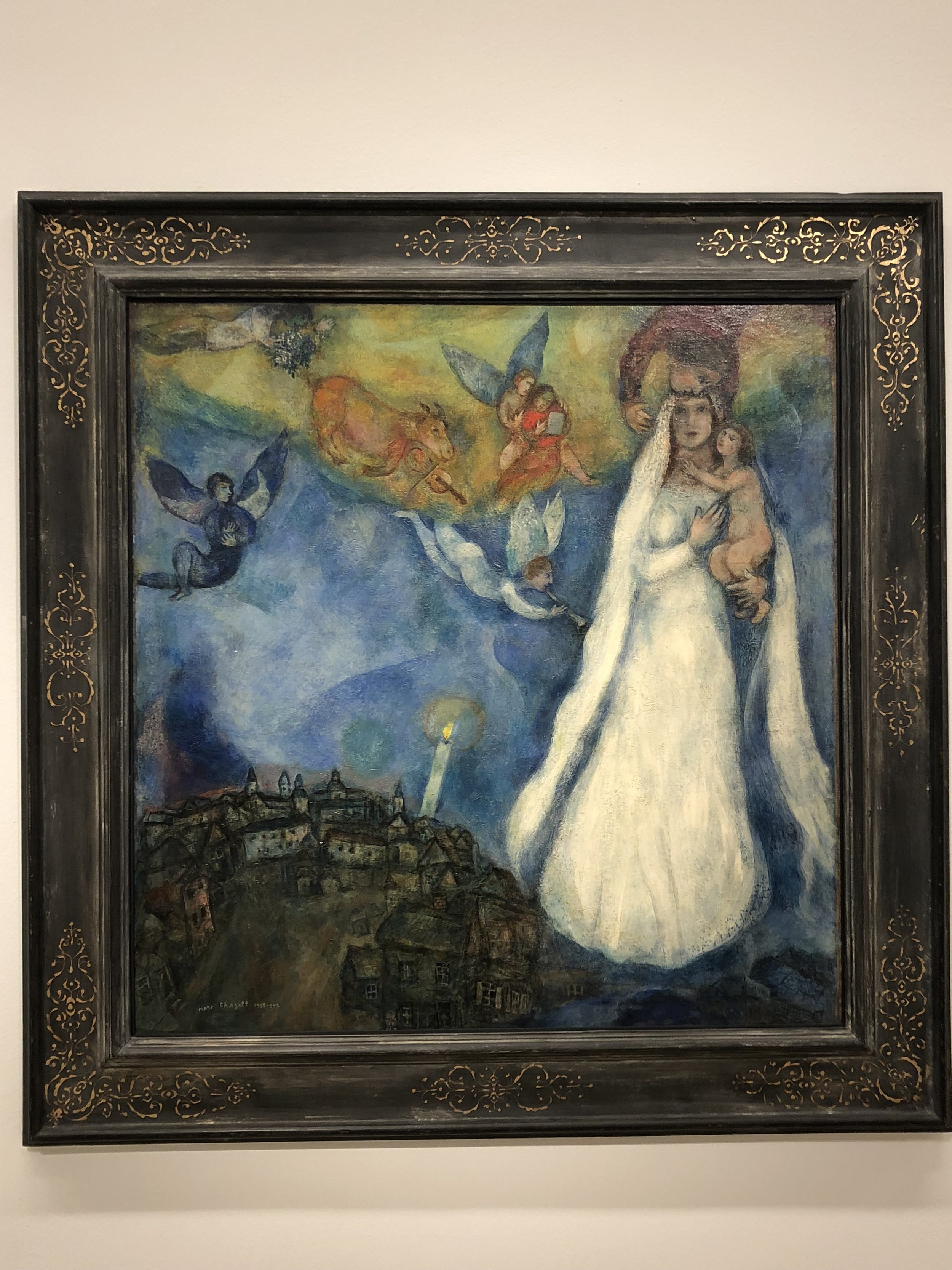 Marc Chagall  The Madonna of the Village, 1938-1942