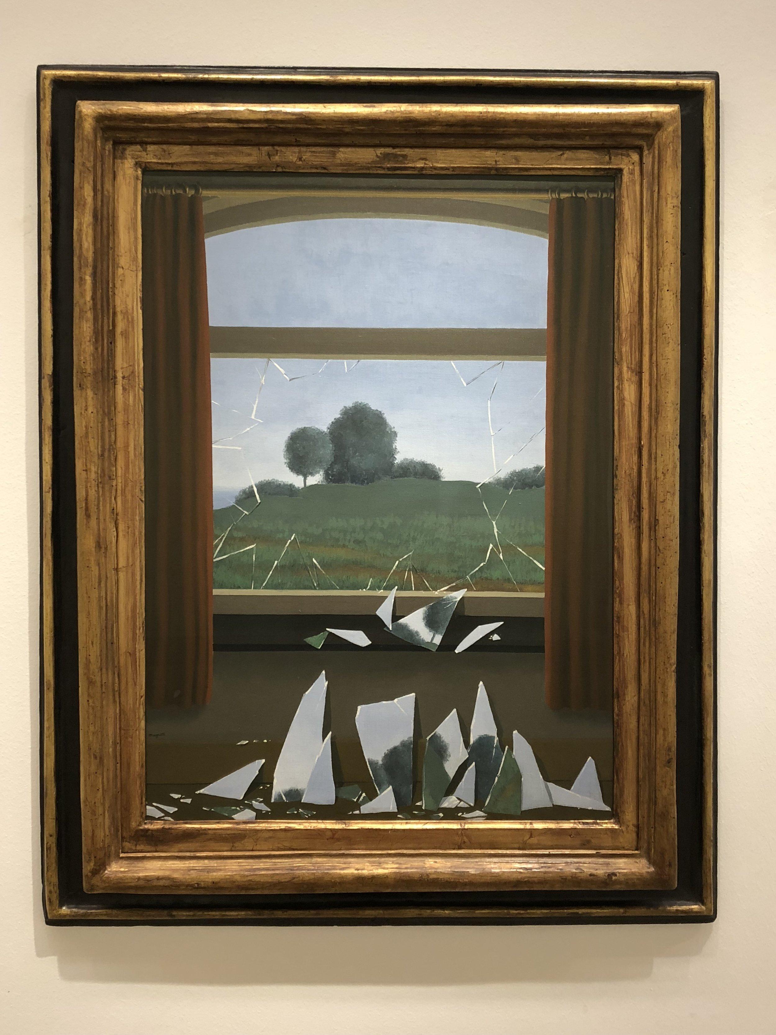 Rene Magritte  La Clef des Champs, 1936