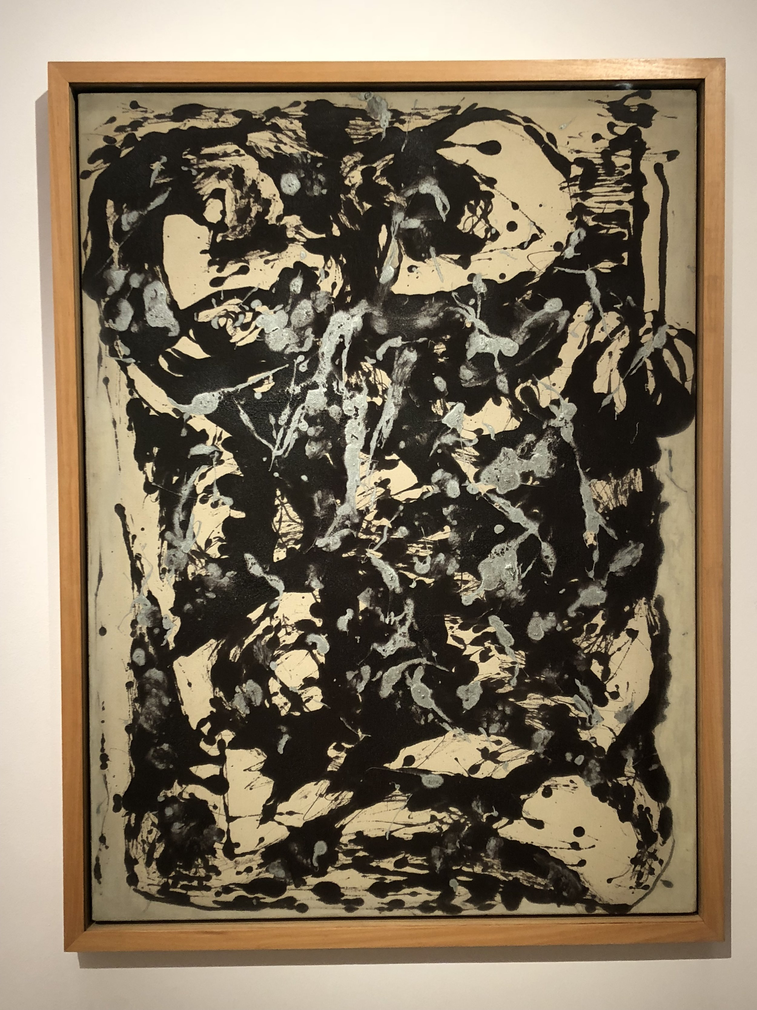 Jackson Pollock  Brown and Silver I, 1951