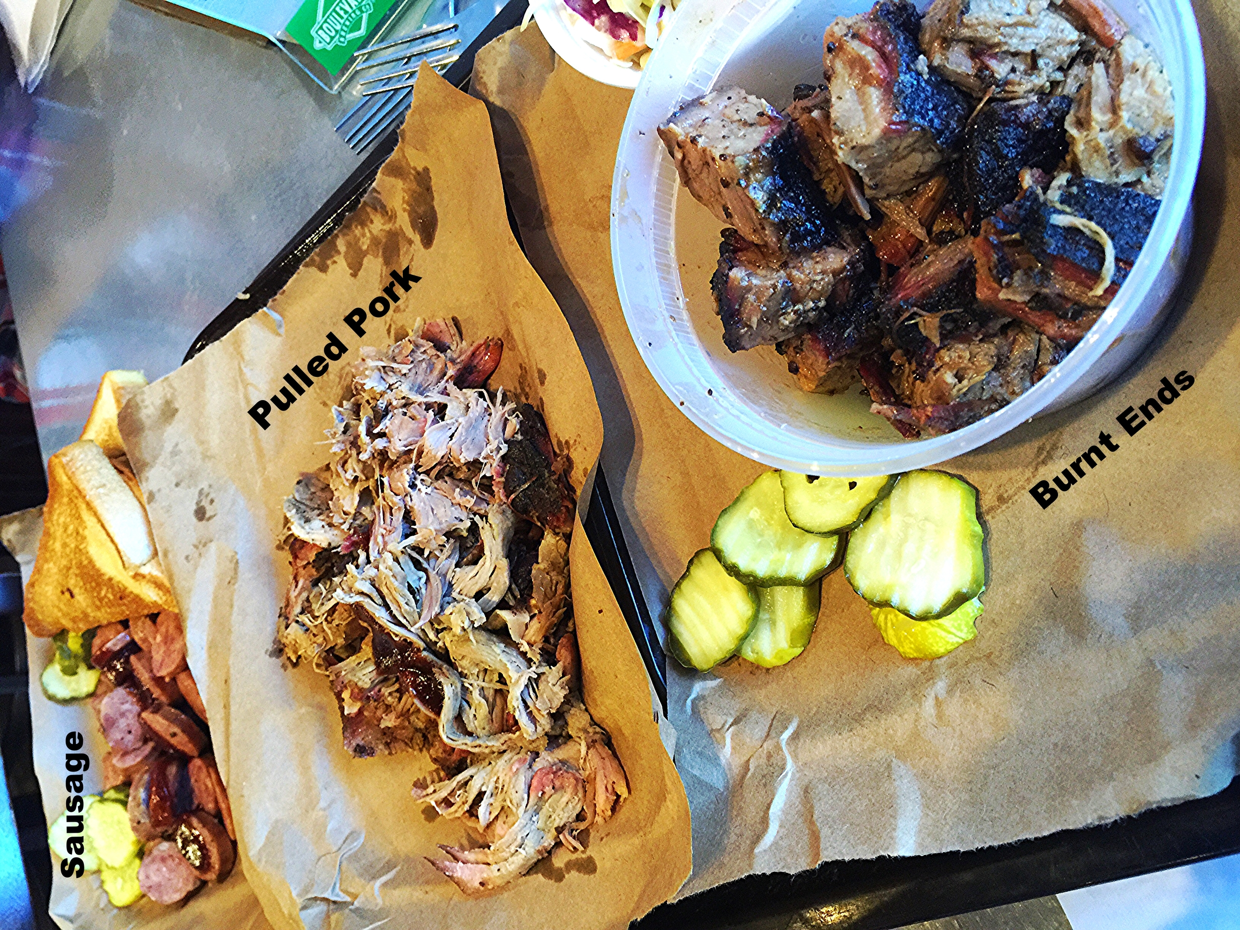 Joes BBQ of Kansas City. Yeah!!! I ordered all the meats!