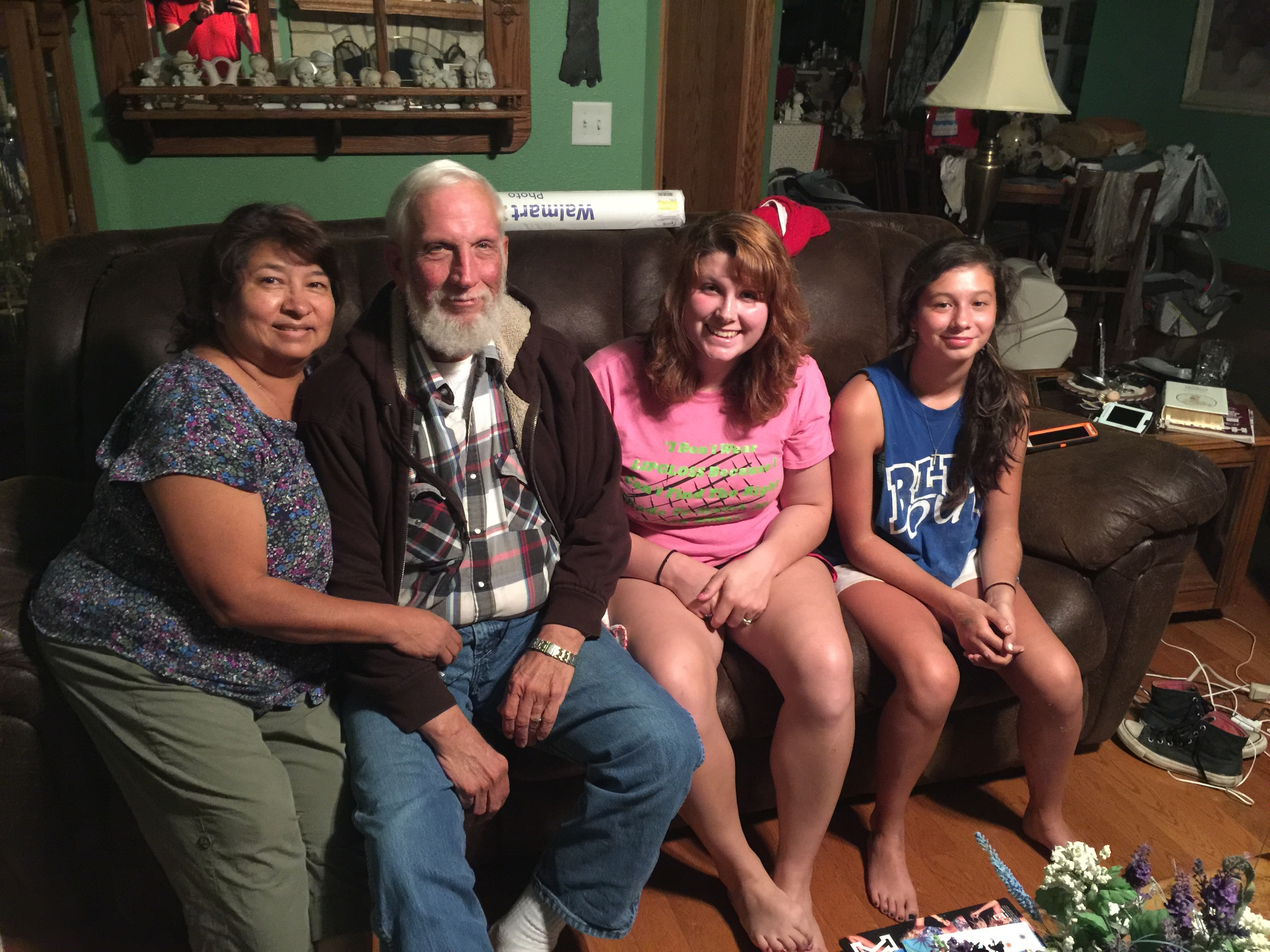 Carrie &Bill Bailey, and their grand daughters Ashley &Katherine