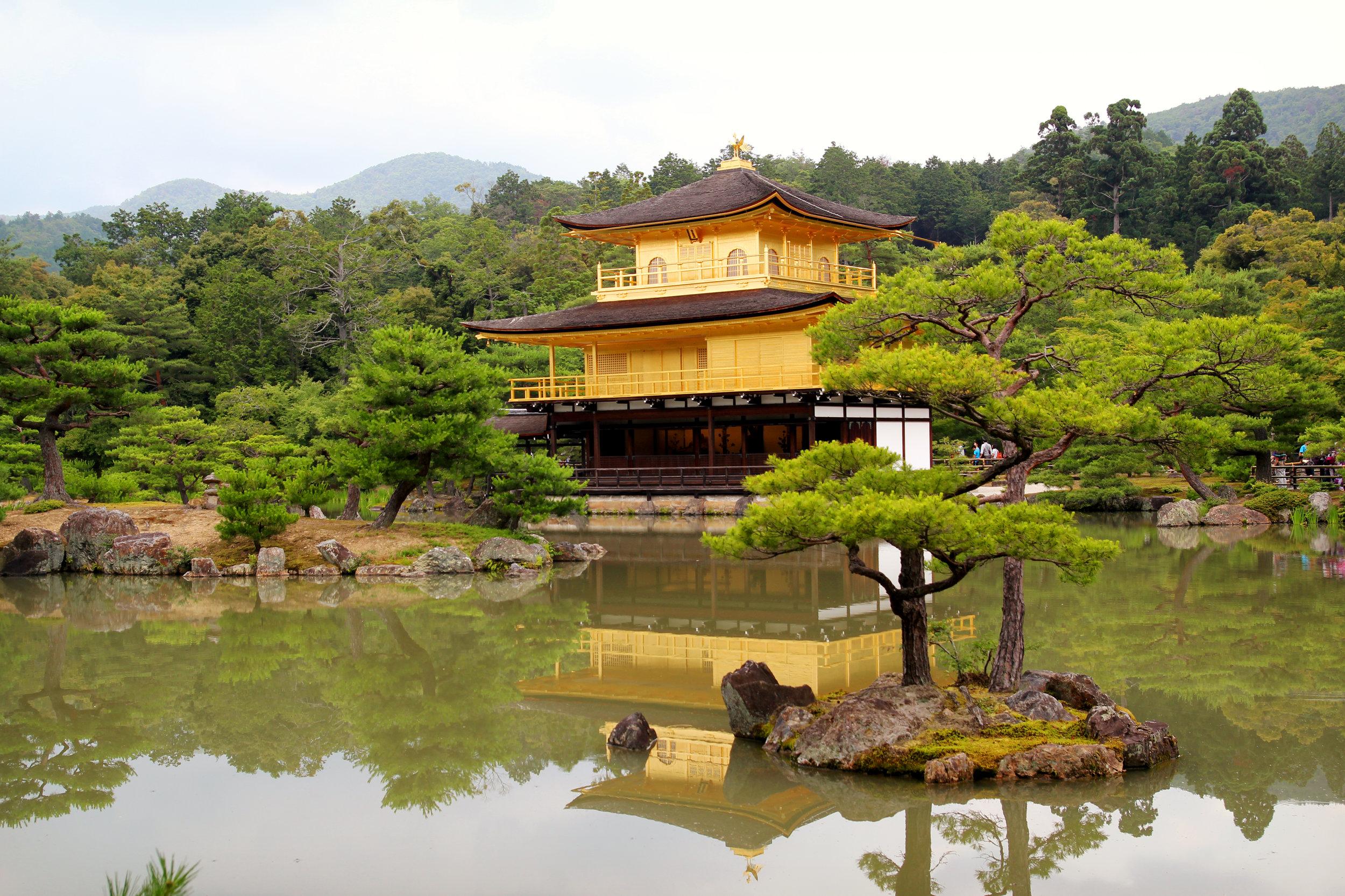 Temple of the Golden Pavilion | Kyoto, Japan