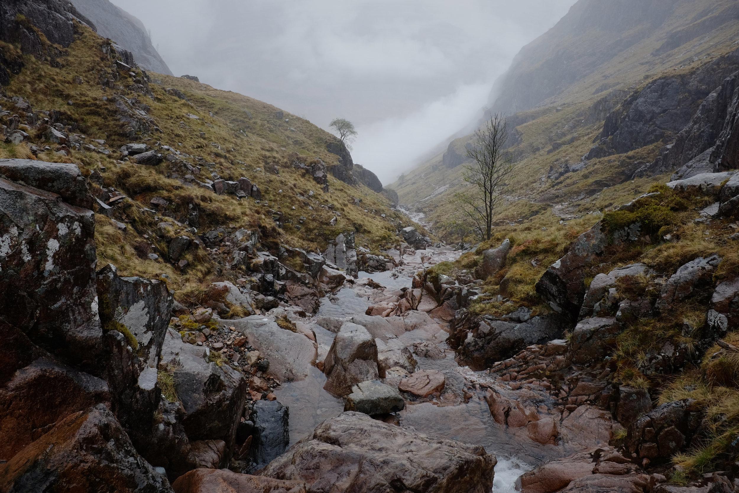 Hidden Valley | Glencoe, Scotland