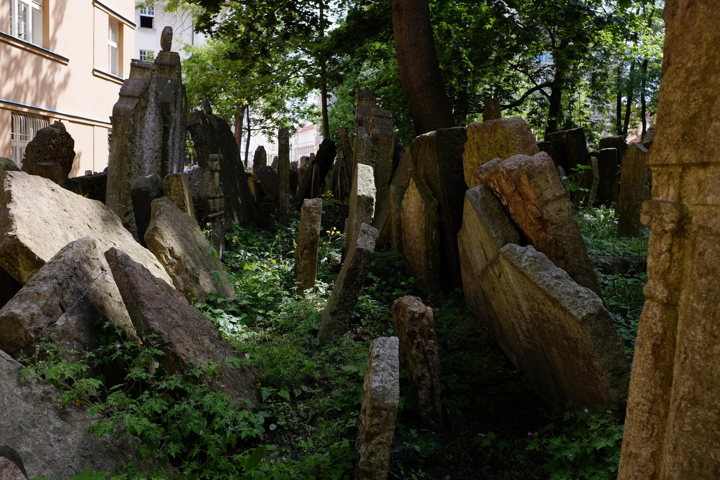 Old Jewish Cemetery | Prague, Czech Republic