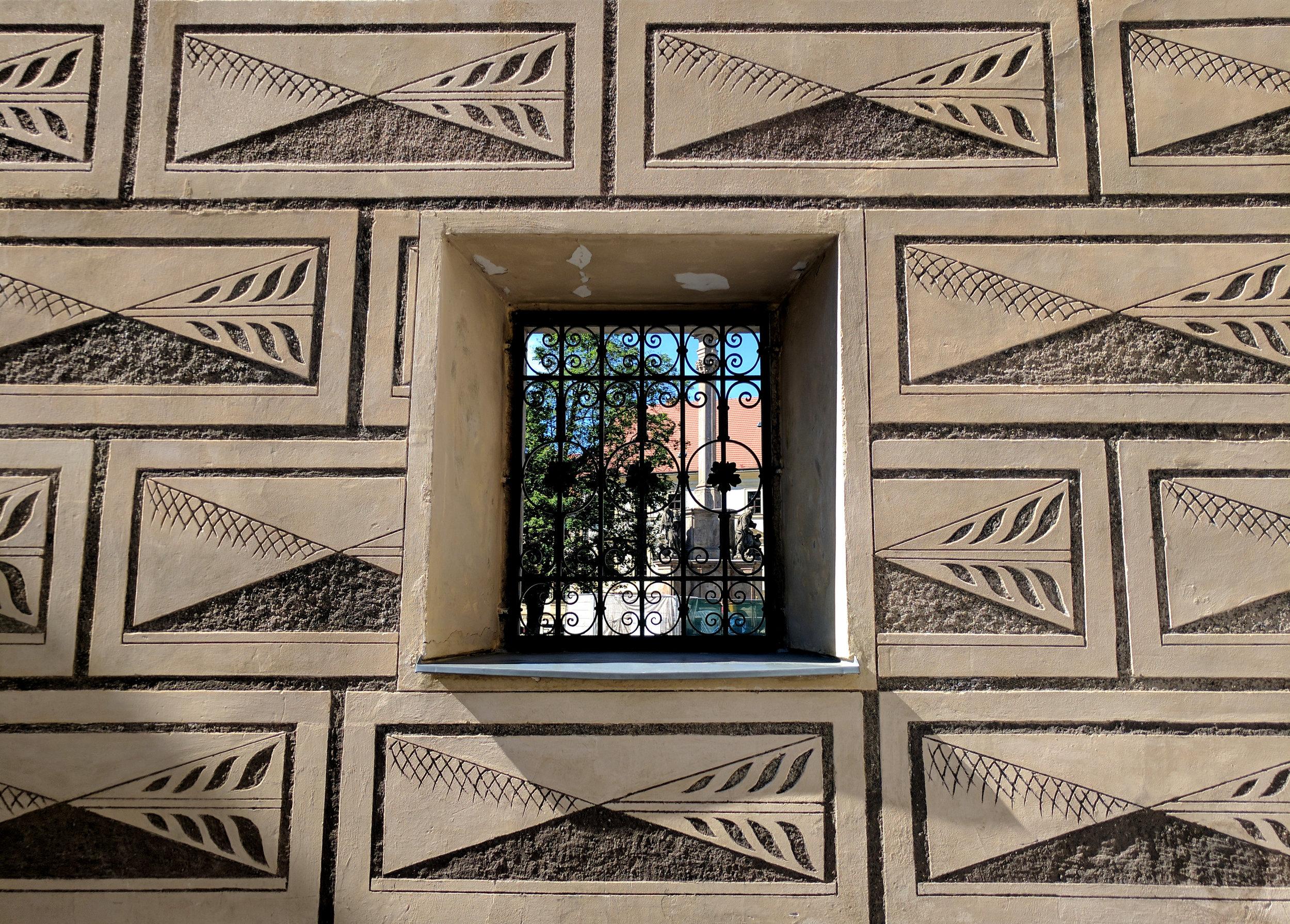 Facade Detail | Prague, Czech Republic