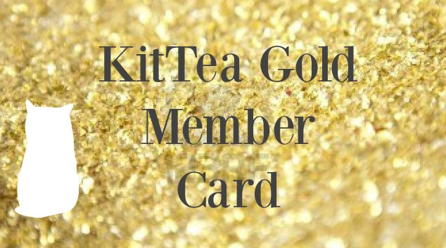 Image of a KitTea Gold Membership Card
