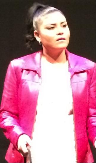 Toenail Whiskeyjack as Nicole.  Photo: Annie Smith