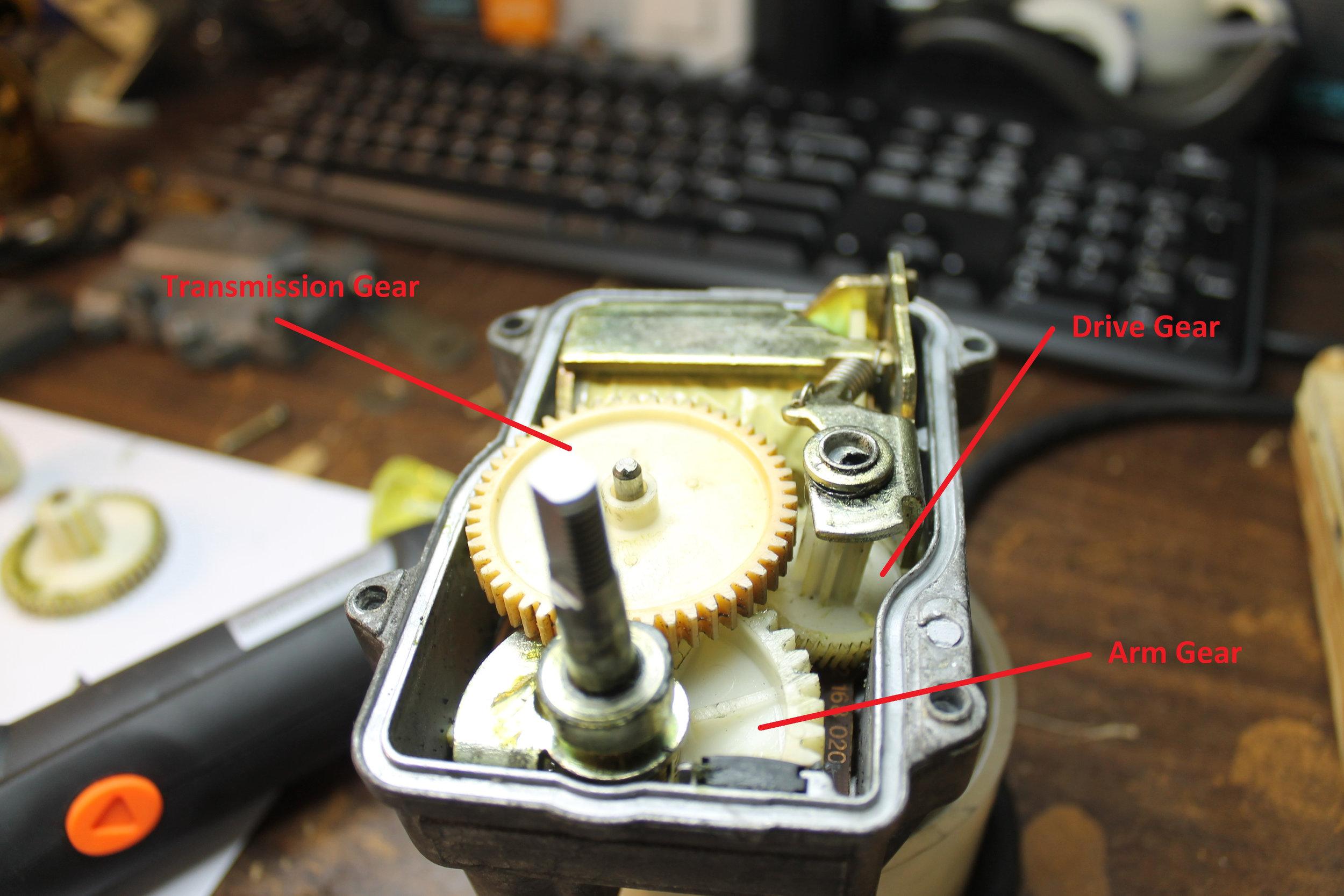 Actuator - Gears