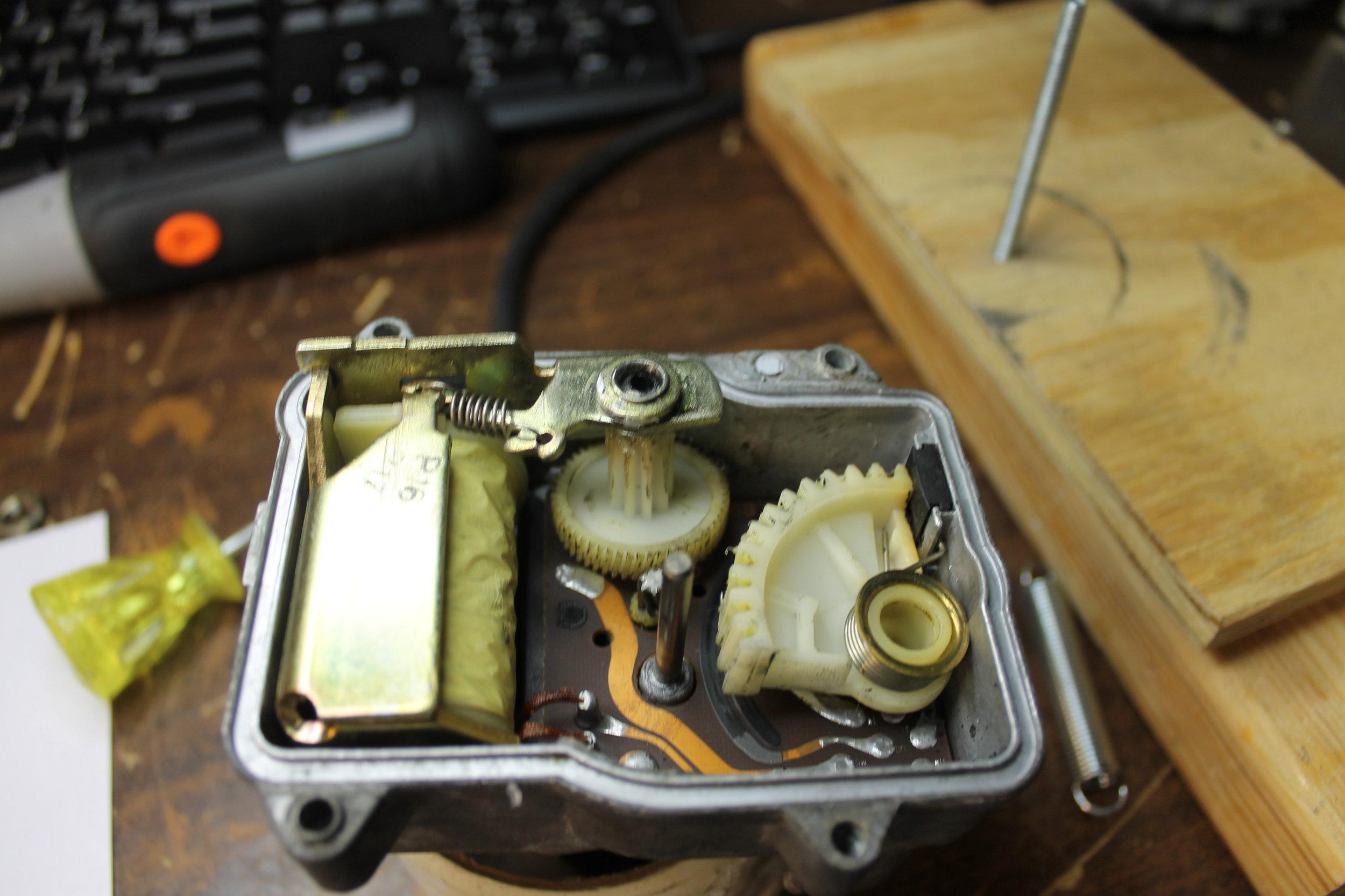 Actuator - Drive Gear & Arm Gear