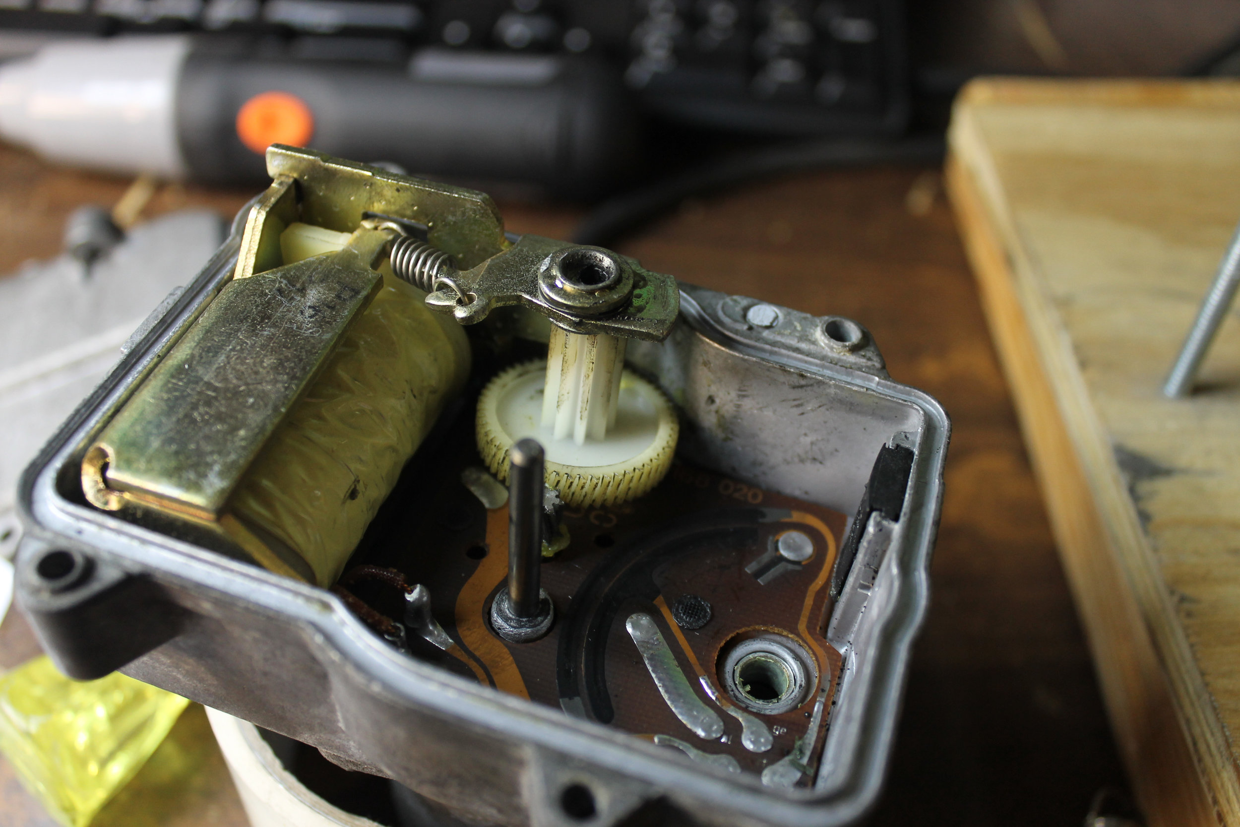 Actuator - Drive Gear & Feedback Potentiometer