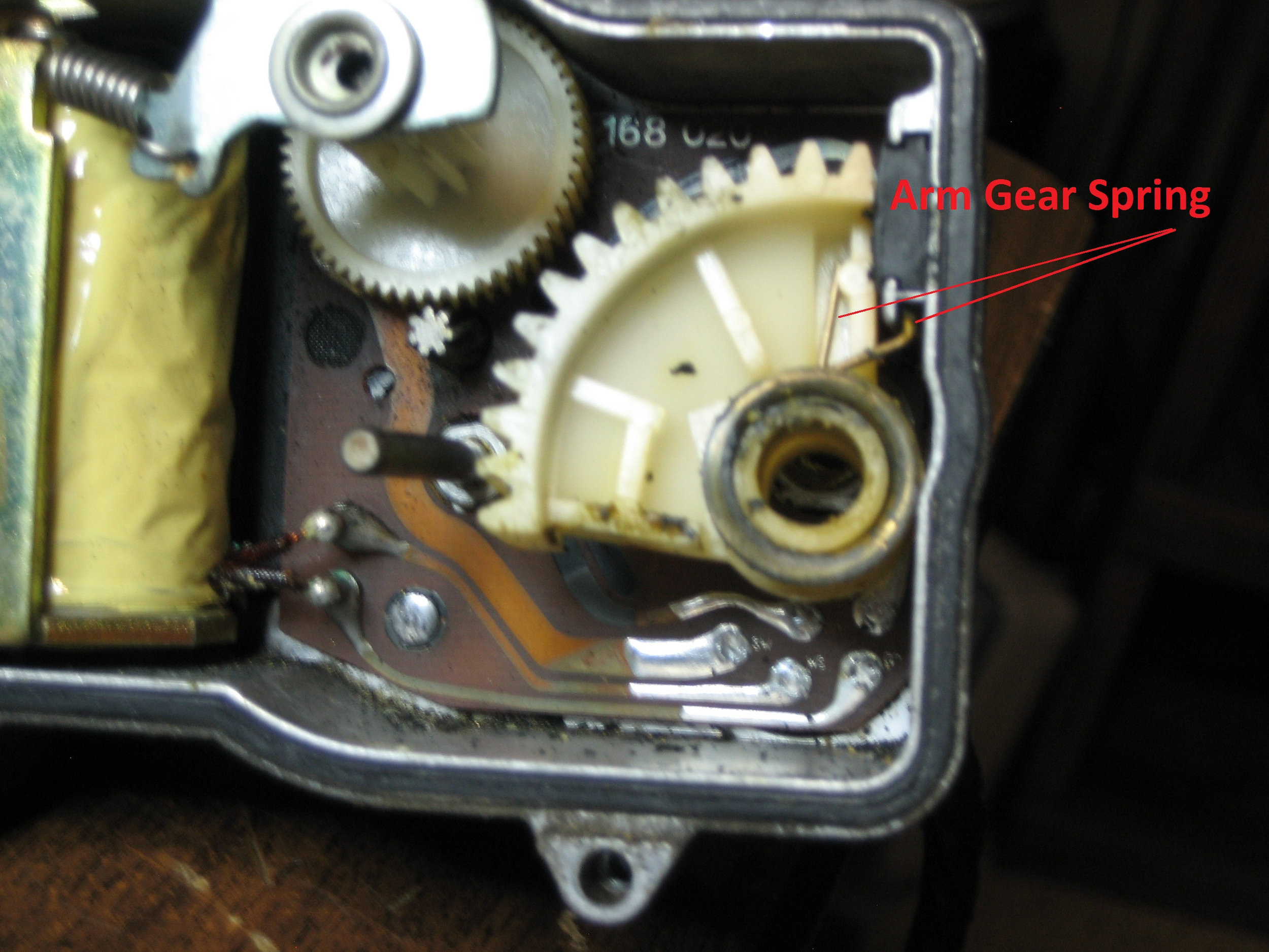 Actuator - Arm Gear Spring