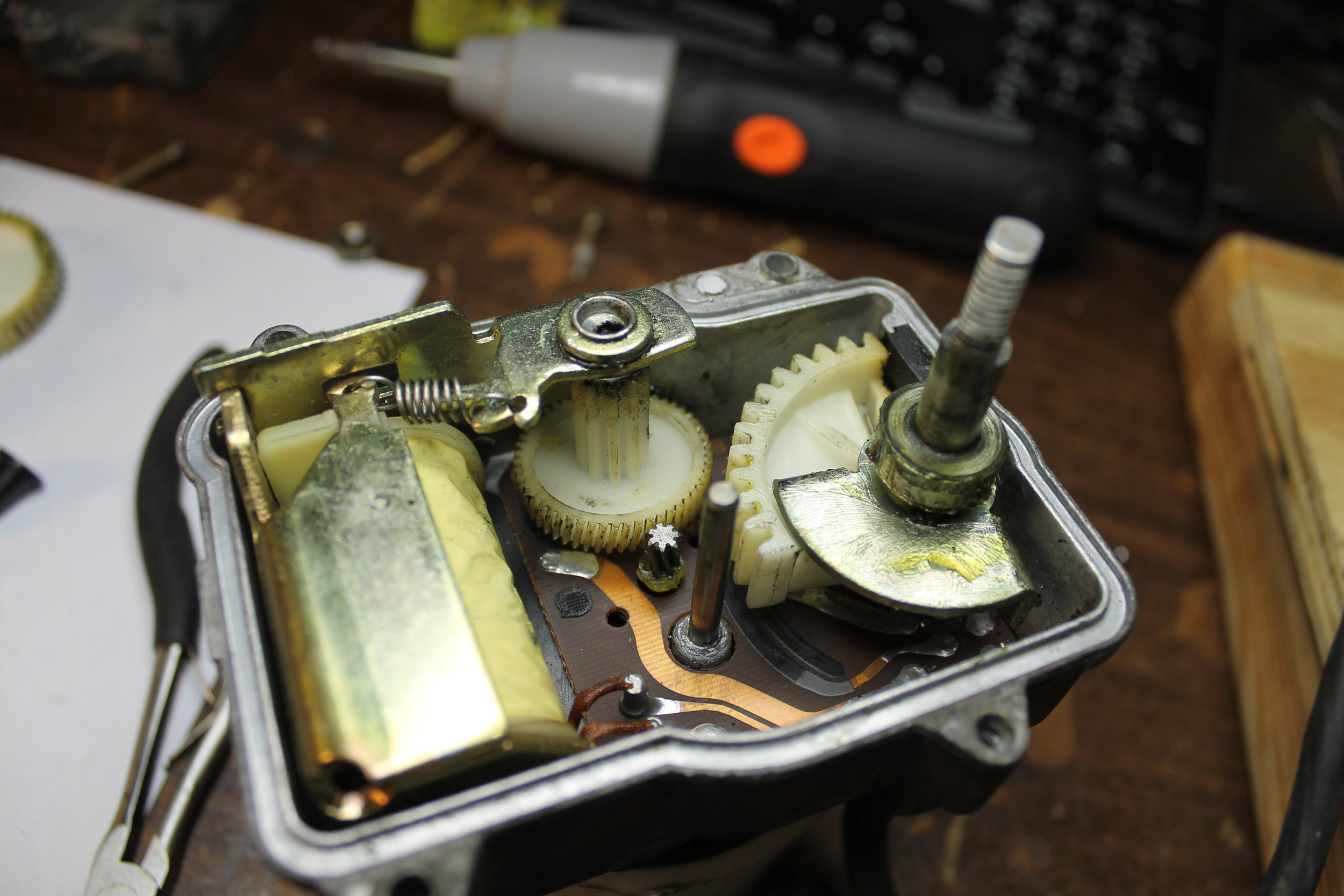 Actuator - Arm Gear Installation