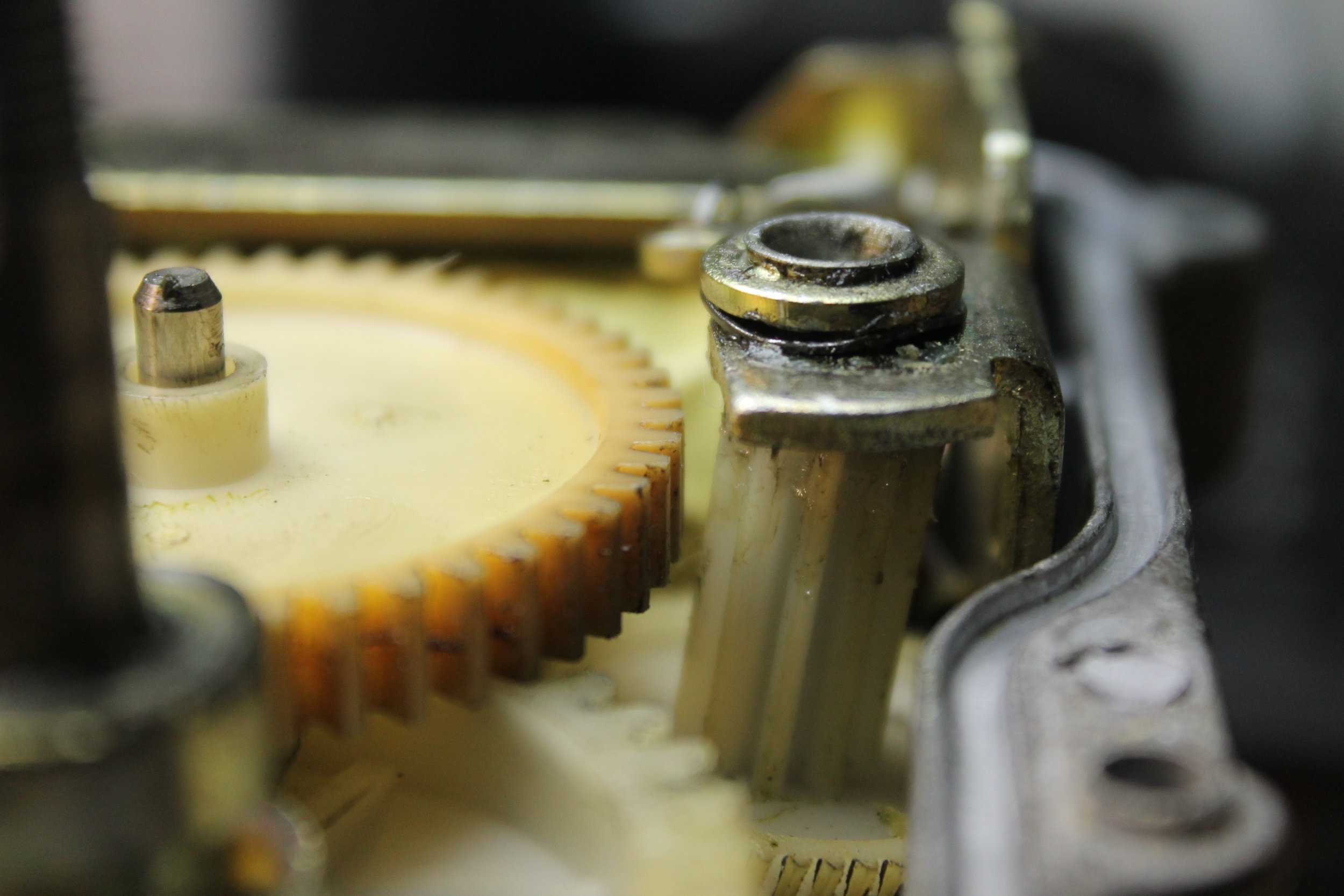 Actuator - Drive and Transmission Gear Meshing