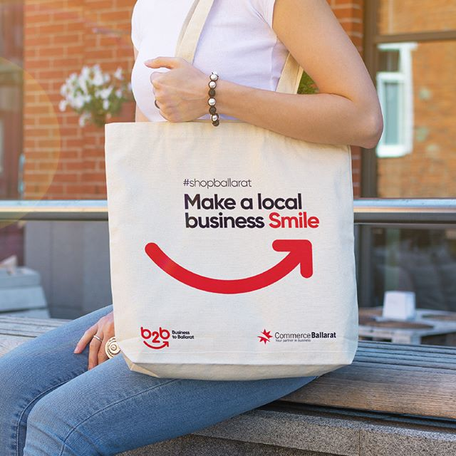 We recently designed the branding for @commerceballarat's B2B - Business to Ballarat campaign aimed at encouraging local spending.