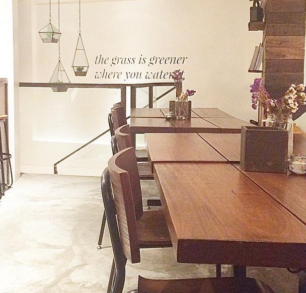 Taken at SUSI, a new vegan restaurant in Burgos Circle, BGC