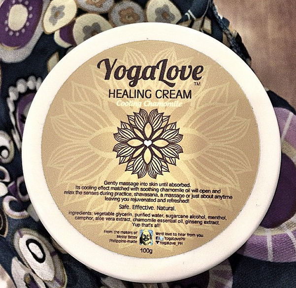 This cream from Messy Bessy is such a joy to apply after yoga and OH, the smell! I love!