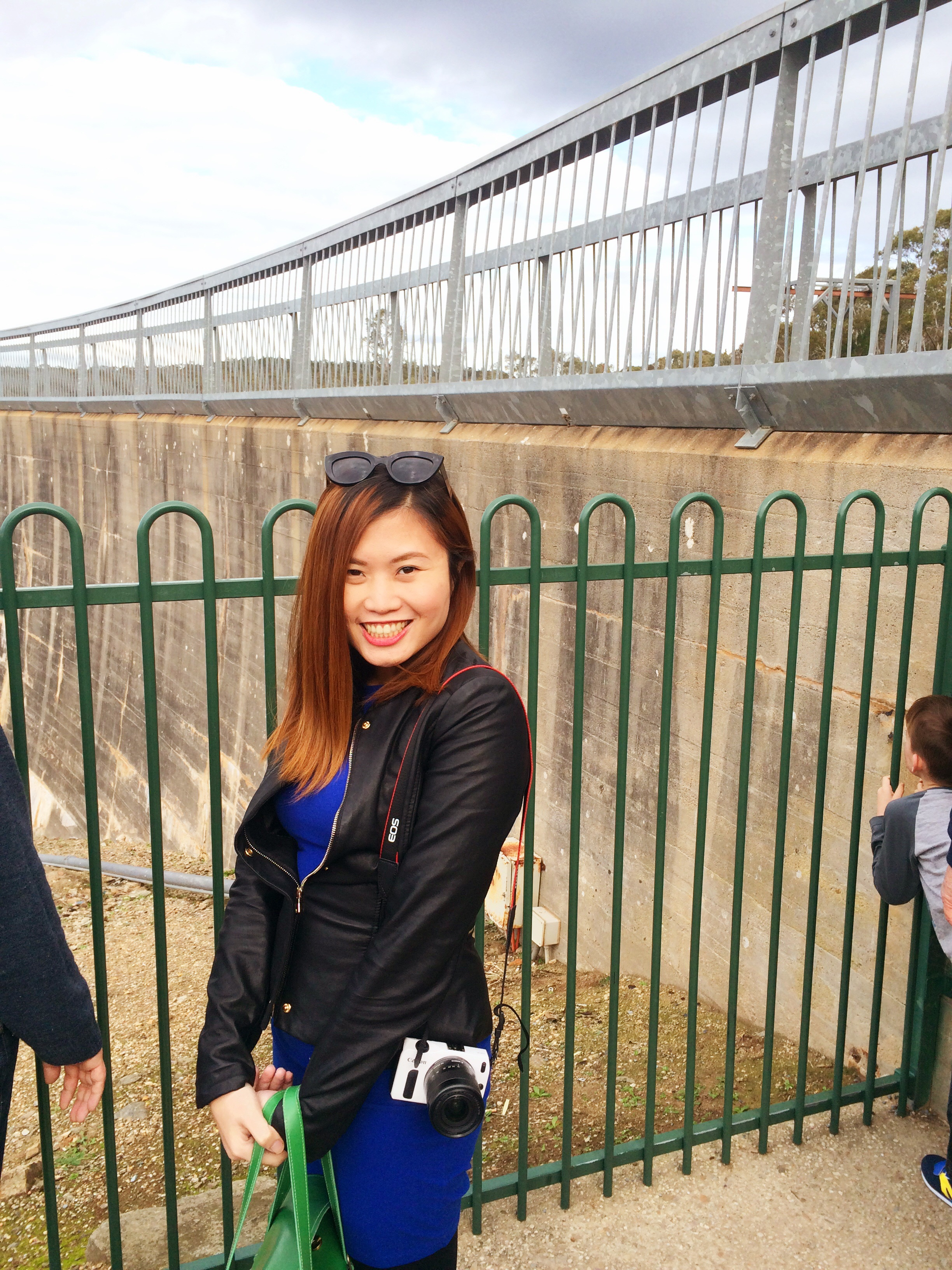 At Whispering Wall in Adelaide