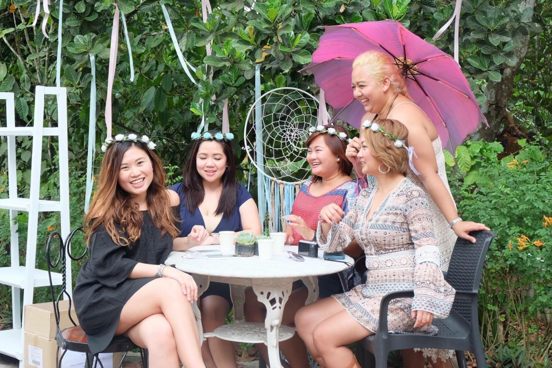 It was Sample Room's Media Launch and I'm so glad to be with these women at Balai Indang, sharing laughs!
