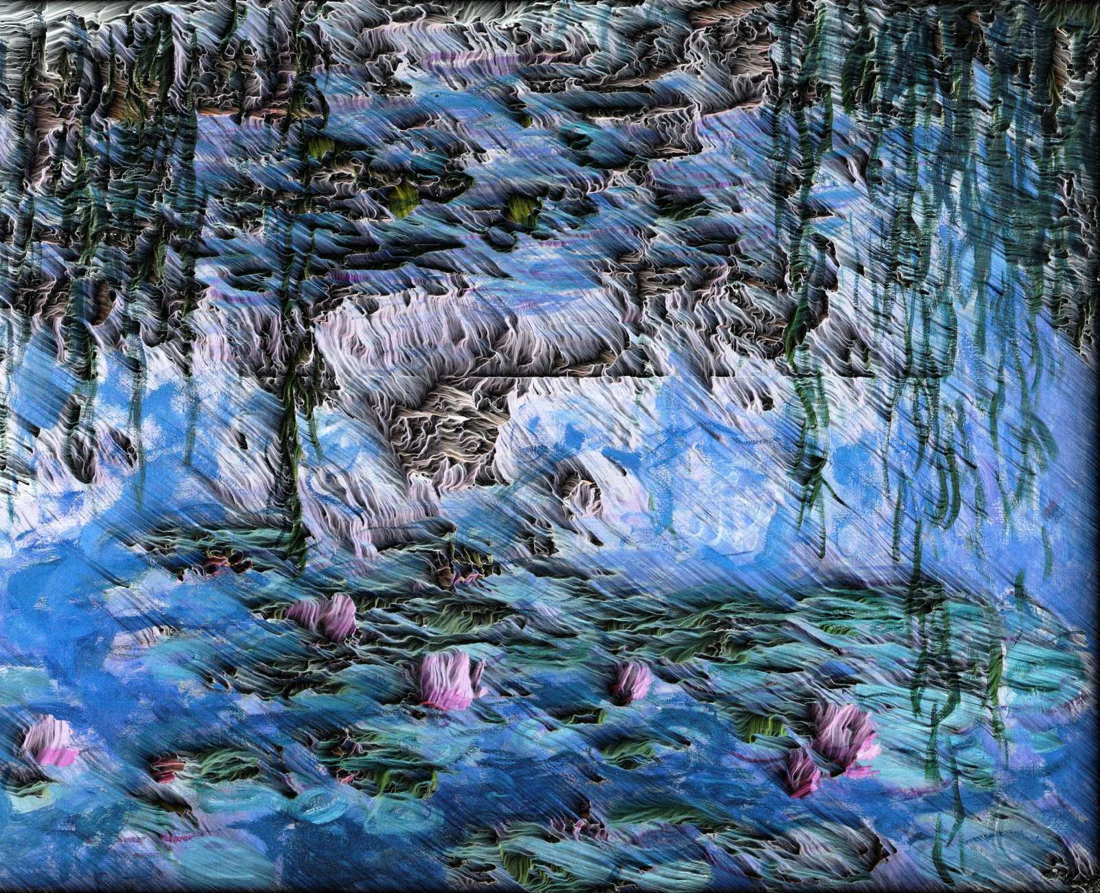 Matteo Mauro -  Water Lilies, 1919 by Claude Monet (1) (1).jpg