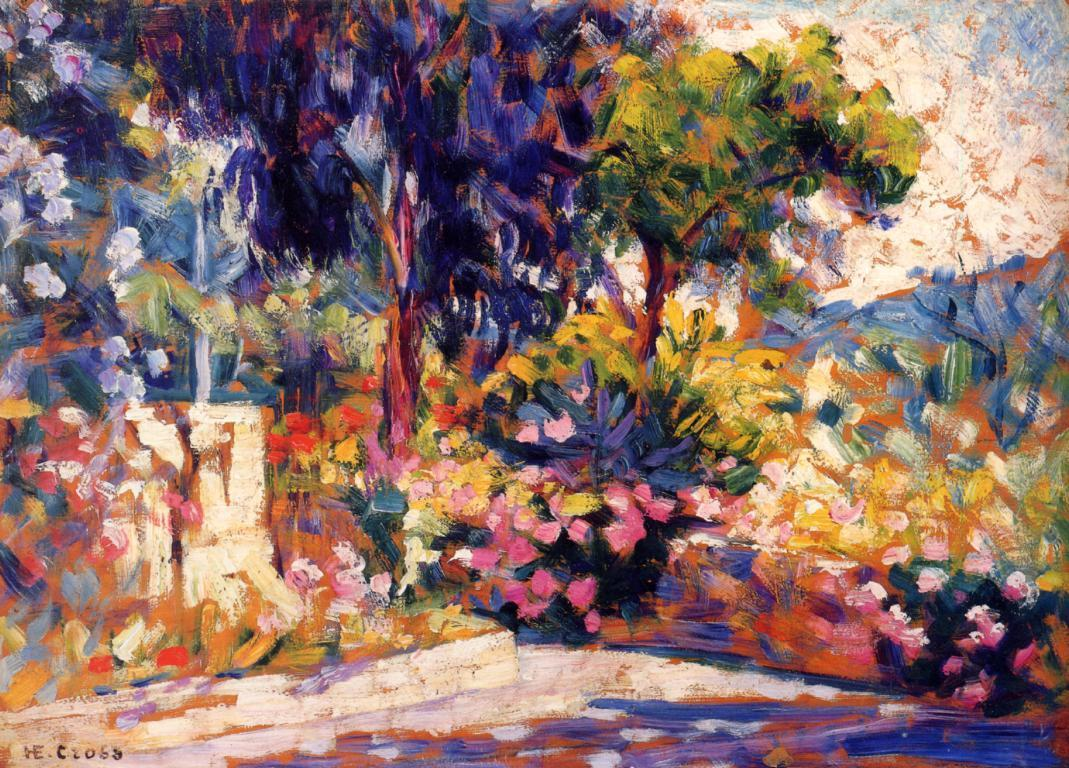 Matteo Mauro -  The Flowered Trees, 1905.jpeg