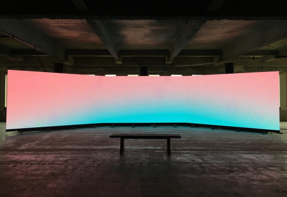 | Artist Spotlight   Krista Kim   Following the success of her recent collaboration with Lanvin,  Techsim  artist Krista Kim discusses the era of digital disruption we're in and what inspires her to work toward and more empathetic world.   Read More
