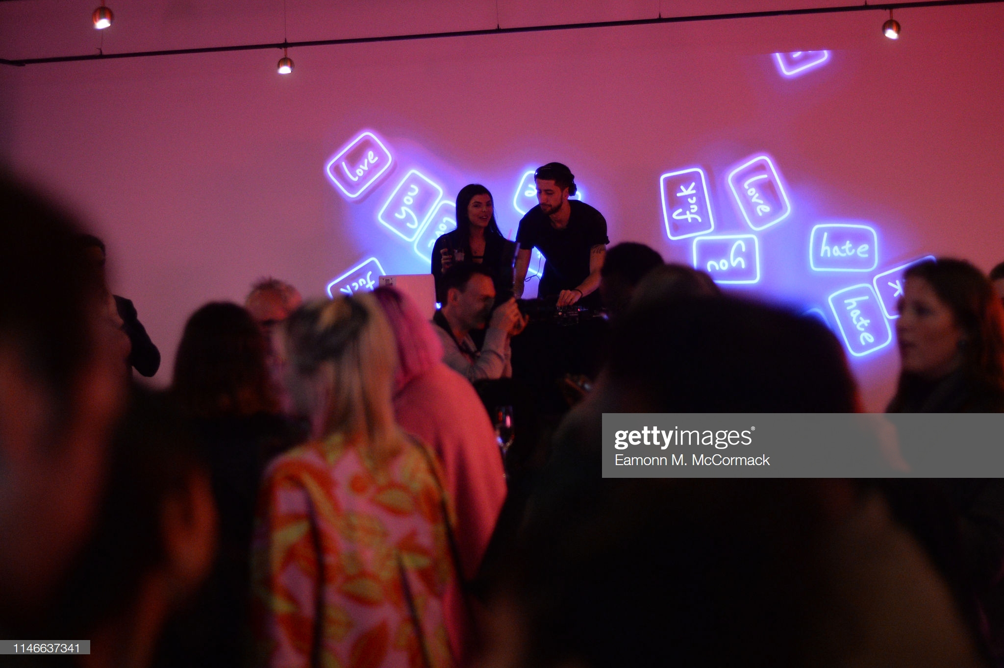 "LONDON, ENGLAND - MAY 02: Atmosphere during ""Futurama"" exhibtion by the TAX Collection at Imitate Modern on May 02, 2019 in London, England. (Photo by Eamonn M. McCormack/Getty Images) LONDON, ENGLAND - MAY 02: Atmosphere during ""Futurama"" exhibtion by the TAX Collection at Imitate Modern on May 02, 2019 in London, England. (Photo by Eamonn M. McCormack/Getty Images)"