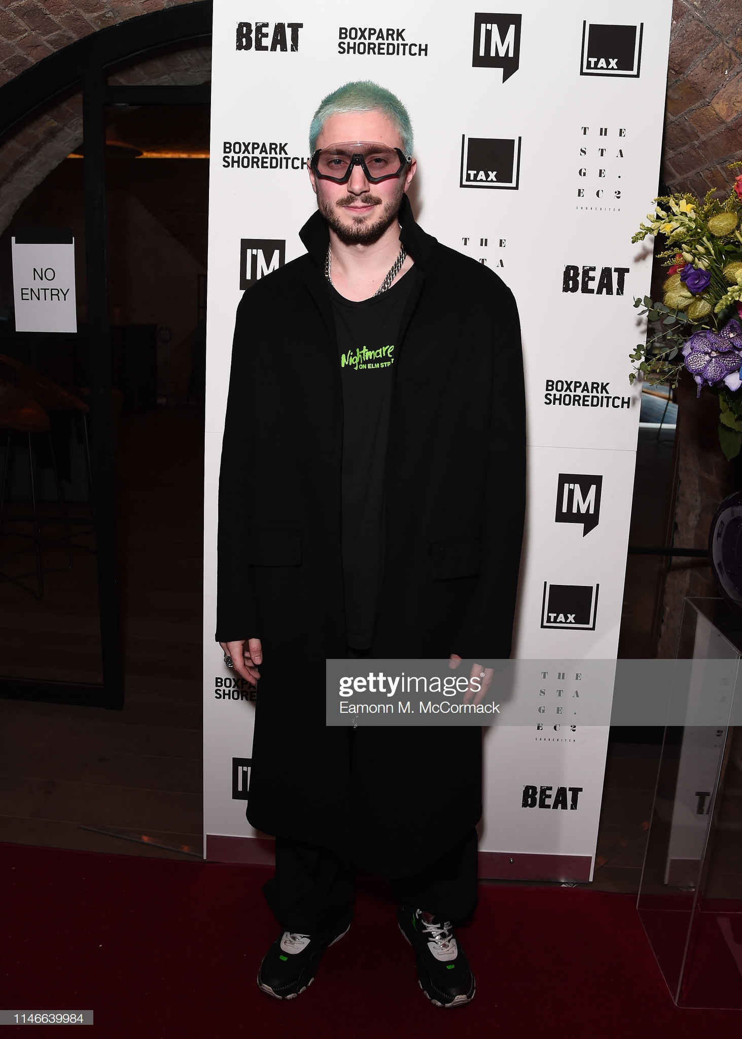 "LONDON, ENGLAND - MAY 02: Thomas Webb during ""Futurama"" exhibtion by the TAX Collection at Imitate Modern on May 02, 2019 in London, England. (Photo by Eamonn M. McCormack/Getty Images) LONDON, ENGLAND - MAY 02: Thomas Webb during ""Futurama"" exhibtion by the TAX Collection at Imitate Modern on May 02, 2019 in London, England. (Photo by Eamonn M. McCormack/Getty Images)"