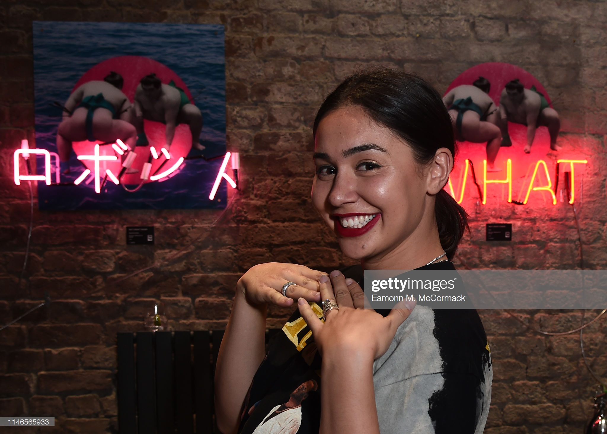 "LONDON, ENGLAND - MAY 02: Eve De Haan during ""Futurama"" exhibtion by the TAX Collection at Imitate Modern on May 02, 2019 in London, England. (Photo by Eamonn M. McCormack/Getty Images) LONDON, ENGLAND - MAY 02: Eve De Haan during ""Futurama"" exhibtion by the TAX Collection at Imitate Modern on May 02, 2019 in London, England. (Photo by Eamonn M. McCormack/Getty Images)"