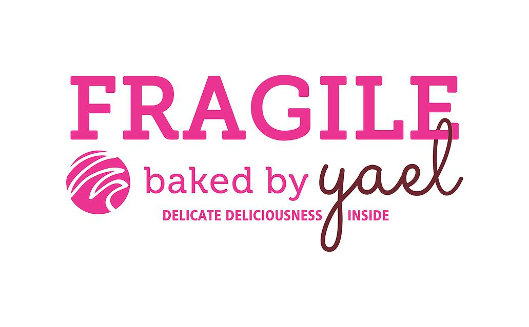 Bria Gutierrez - Baked By Yael - Fragile Shipping Sticker.jpg