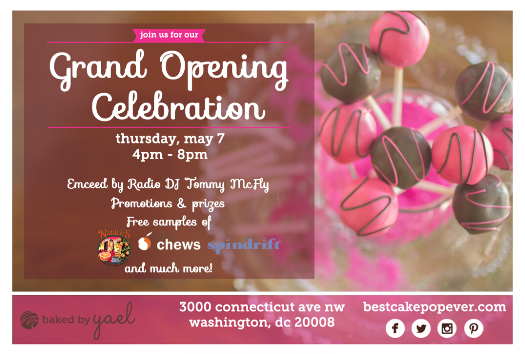 Baked By Yael - Gran Opening Announcement.png