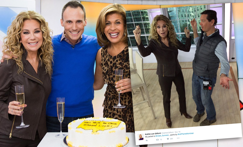 16 November 2016—Kathie Lee Gifford in Up Pants. She looks pretty happy!