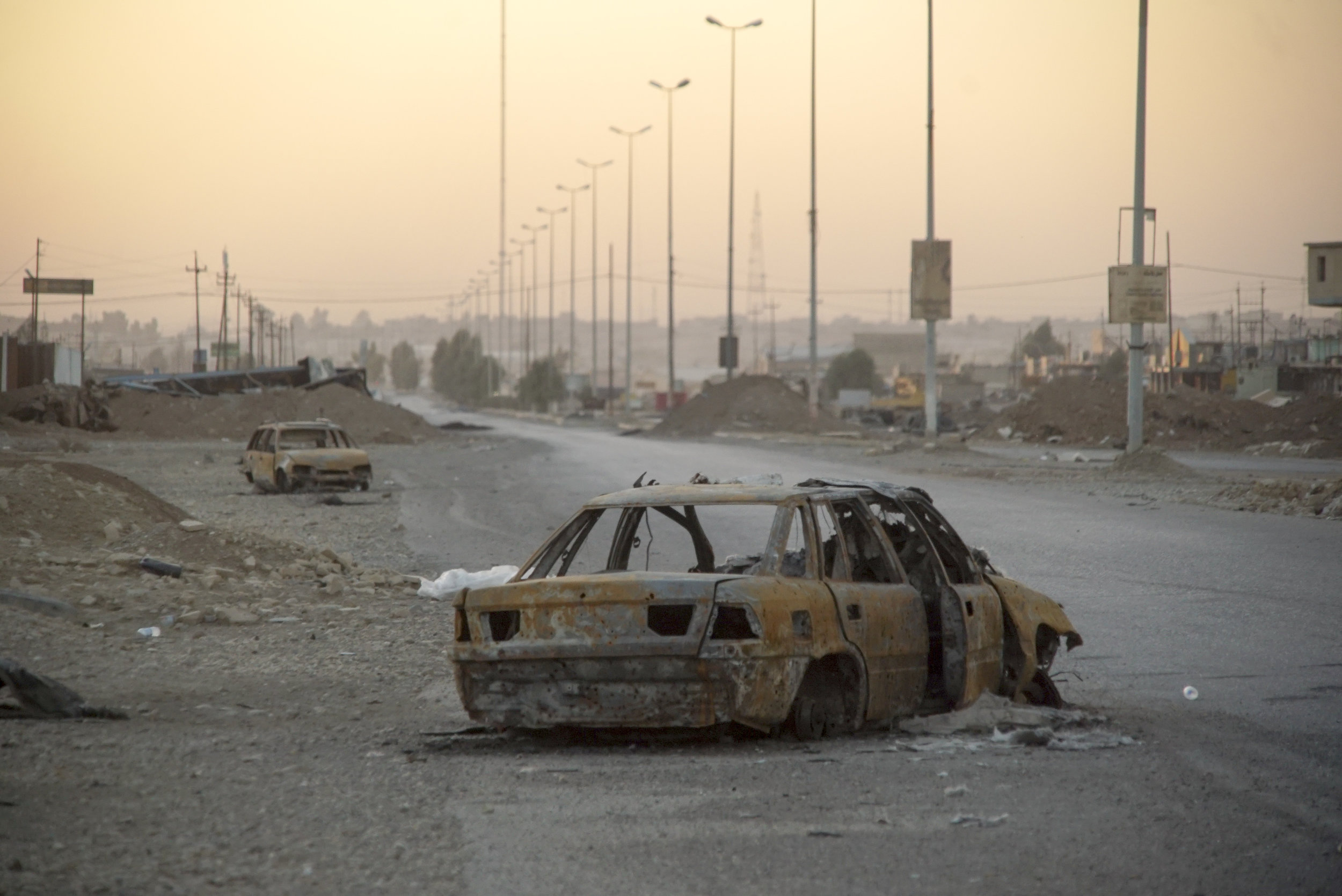 Outskirts of Mosul. Imagine your town or city being reduced to this.