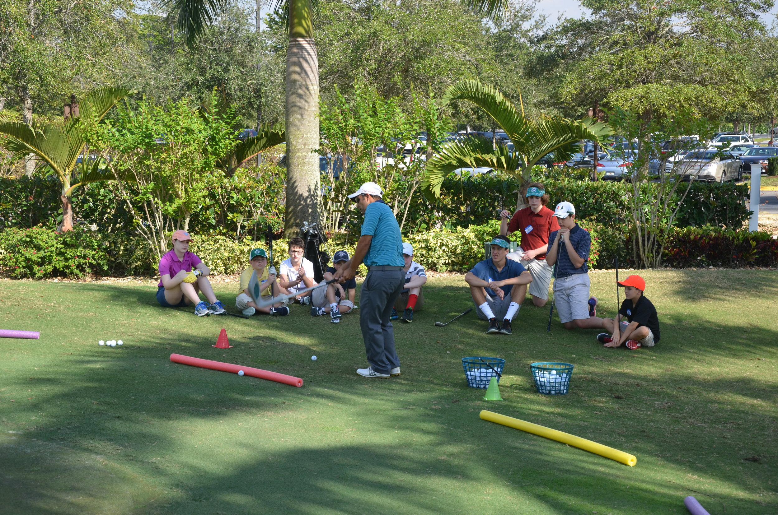 After School Golf - Golf after school is an 5 week program open to children ages 7-13. The classes will meet once a week for one hour at Wycliffe Golf and Country Club in Wellington, FL. Classes will highlight a range of golf skills and coach children through various life lessons. Students will walk away having not only learned about the golf swing, rules, etiquette, and elements of a golf hole, but also how to integrate honesty, perseverance, and leadership in life .-Classes will take place: 8/28/19 through 9/25/19 (Wednesdays)-Classes will run from 5:00-6:00 pm- Juniors Ages 7-13 ( all skill levels) are welcome to participate- Cost: $30 per class or $125 for all five classes- All equipment (clubs, balls, etc.) will be provided if necessary
