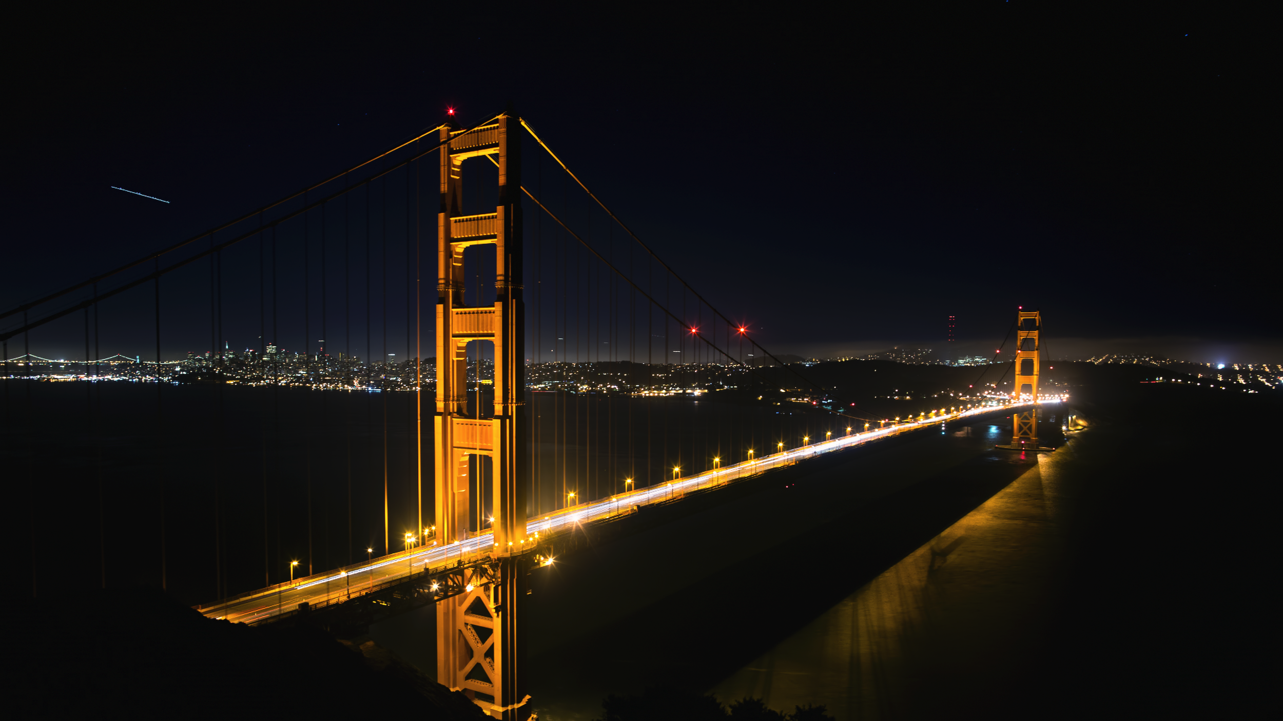 Time-lapse of San Francisco's Golden Gate Bridge.