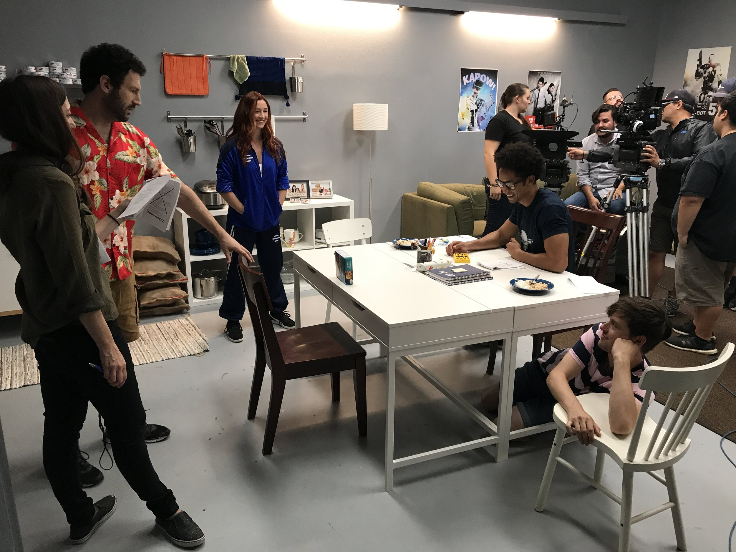 Behind the scenes on  Bunkheads