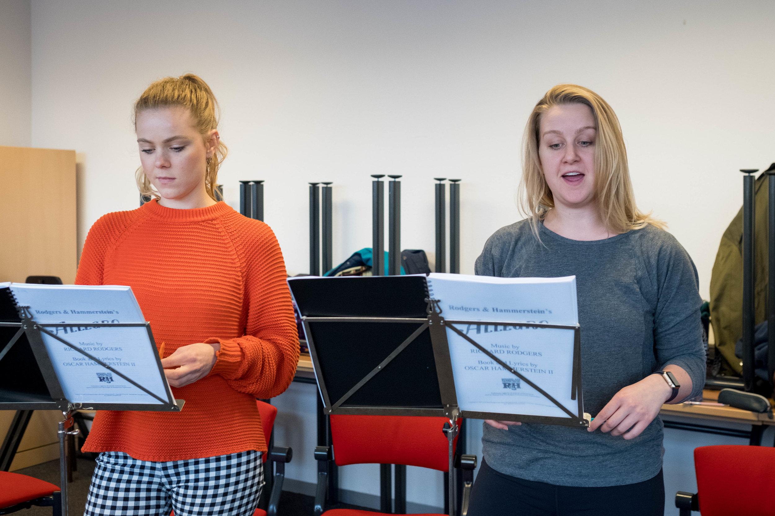 'Allegro' rehearsal image, courtesy of Jeroen Idema
