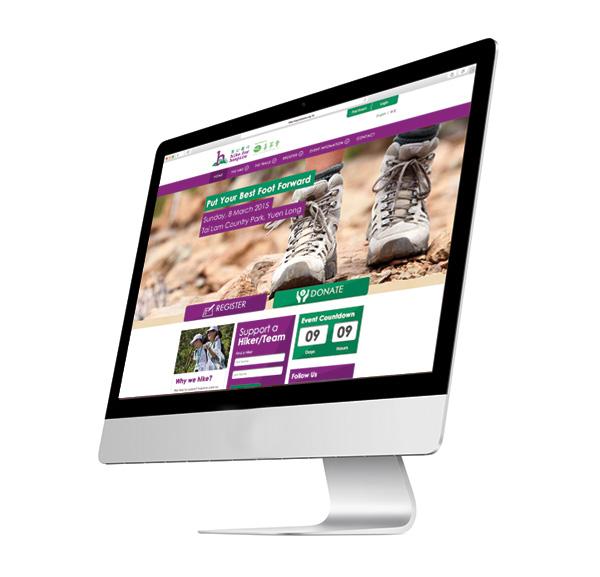 Hike for Hospice Website